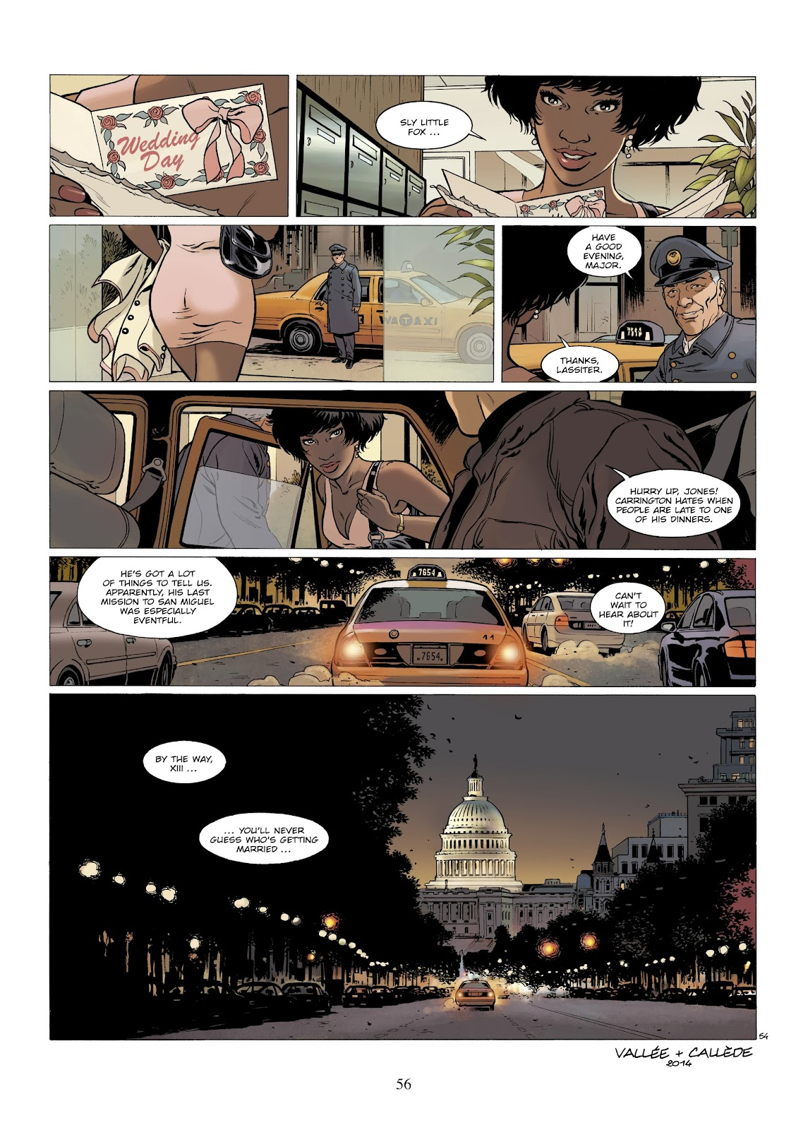 XIII Mystery issue 7 - Page 58