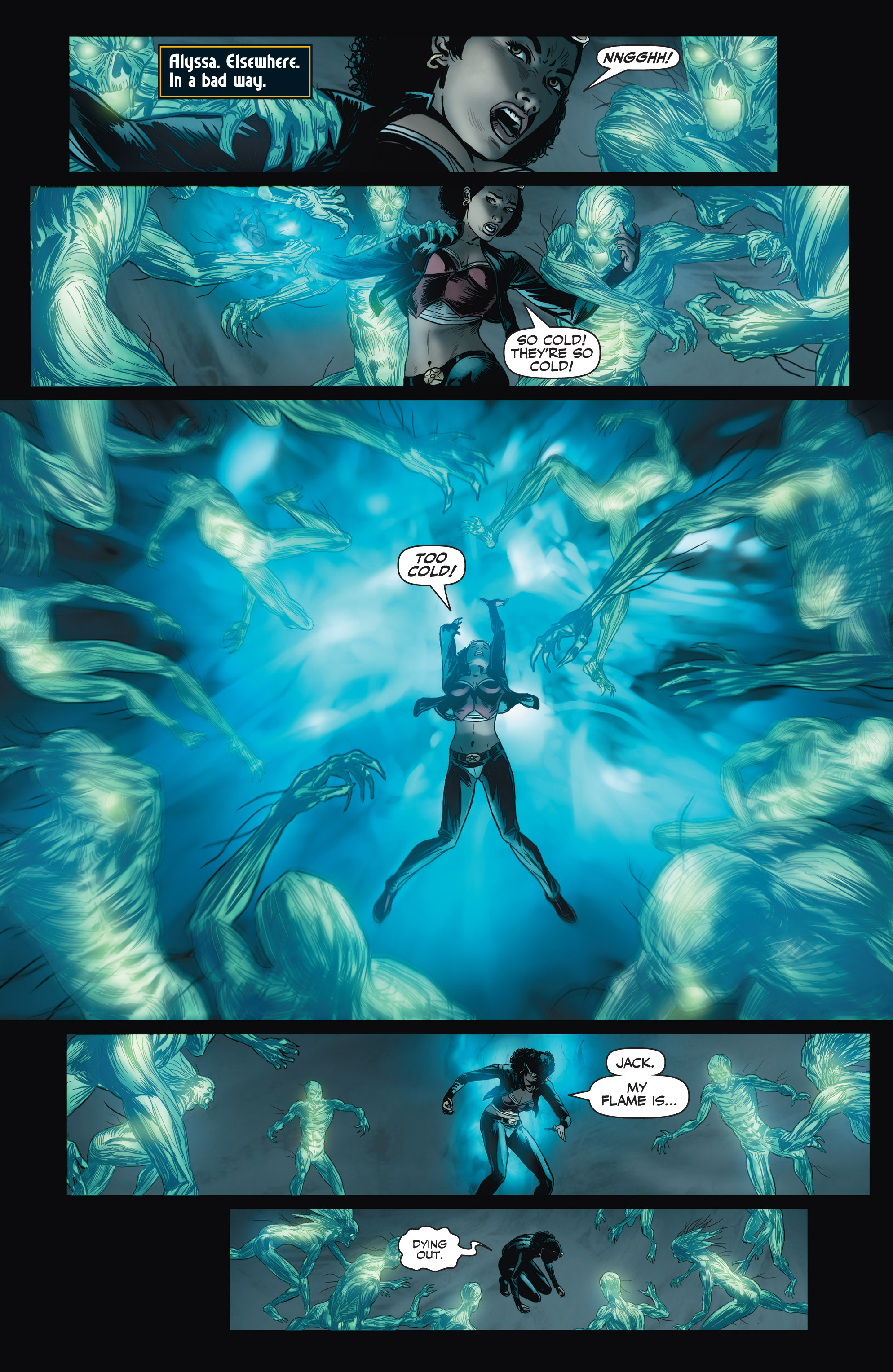 Read online Shadowman (2012) comic -  Issue #3 - 17