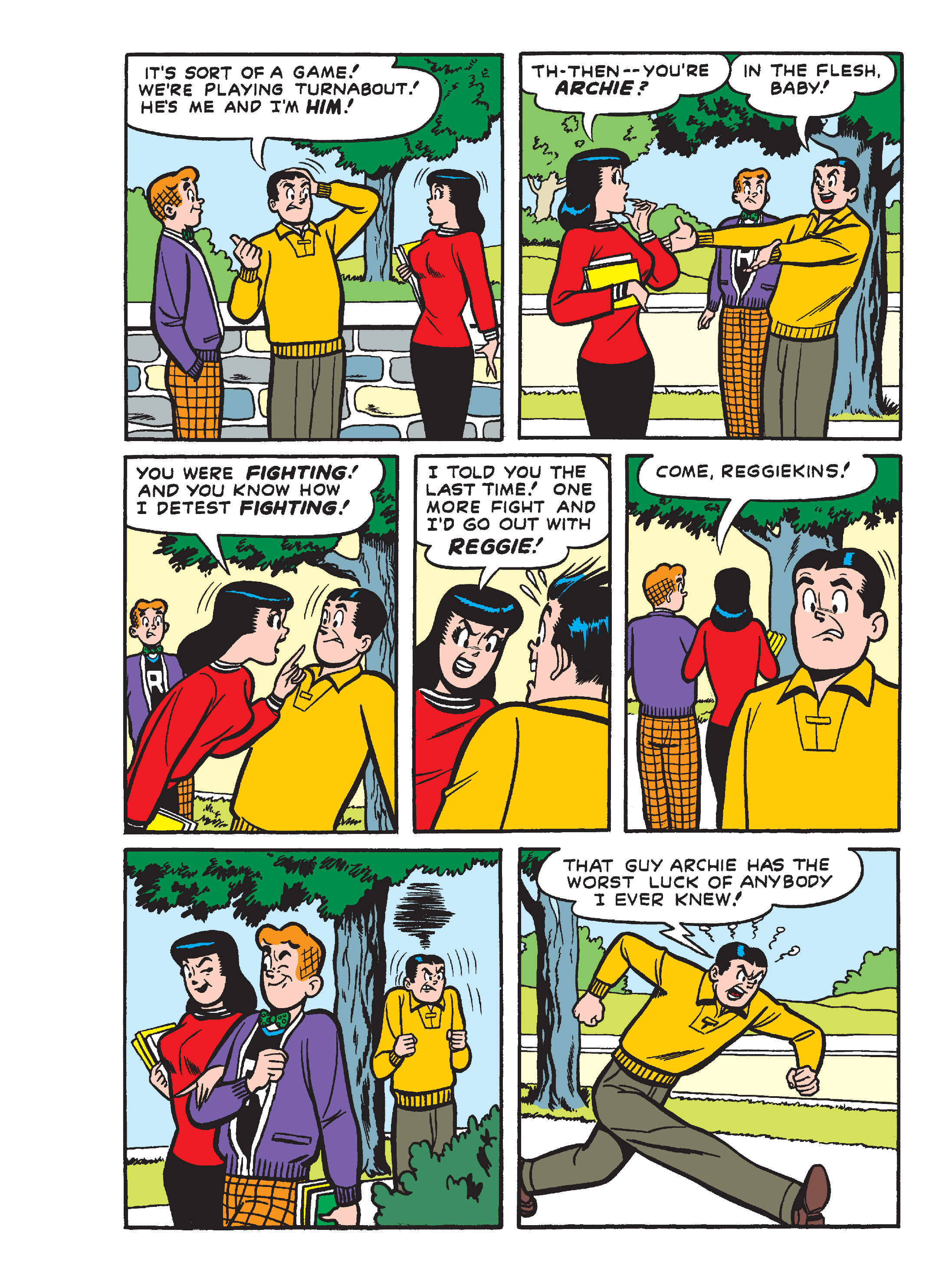Read online Archie's Funhouse Double Digest comic -  Issue #15 - 140