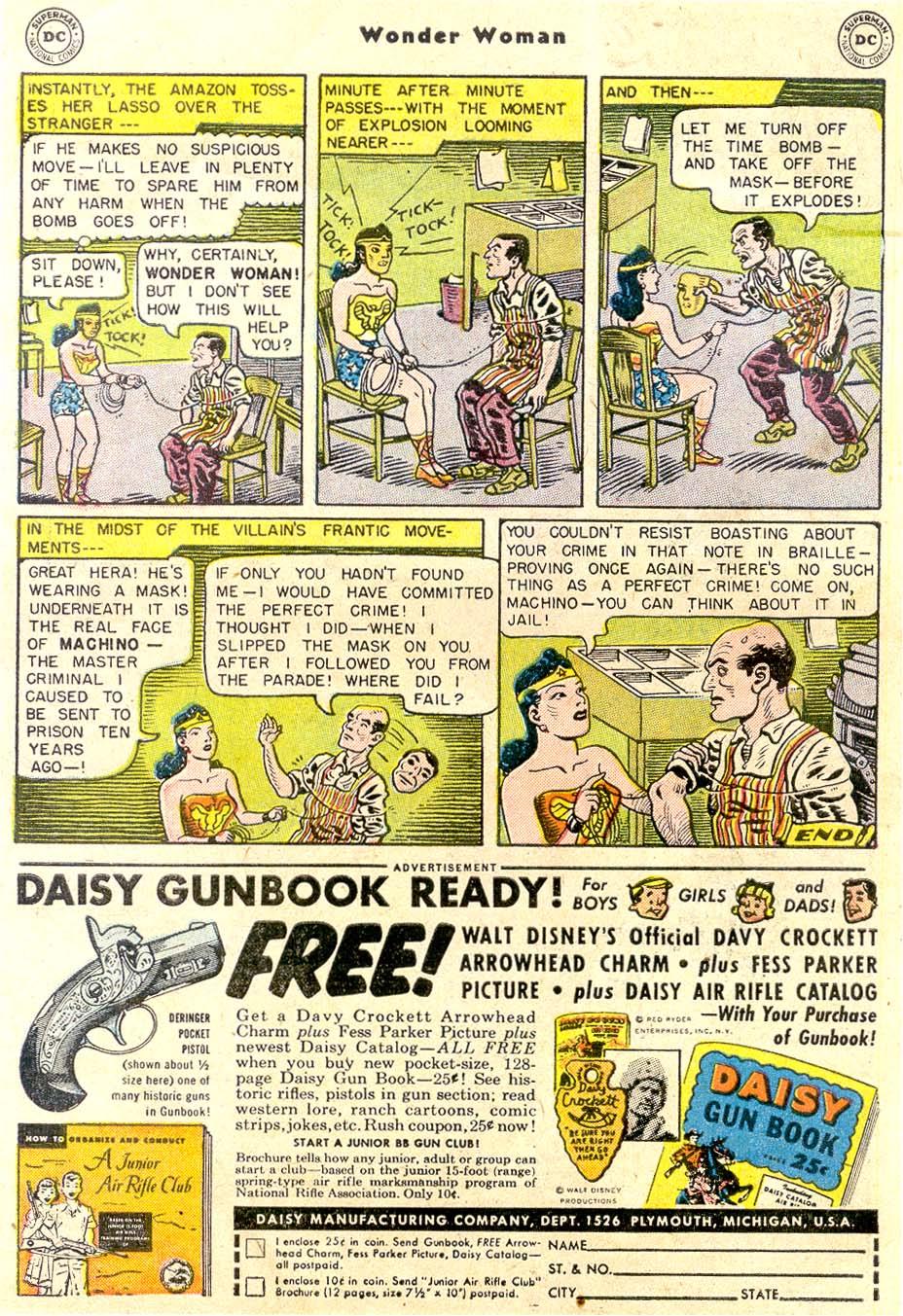 Read online Wonder Woman (1942) comic -  Issue #80 - 10