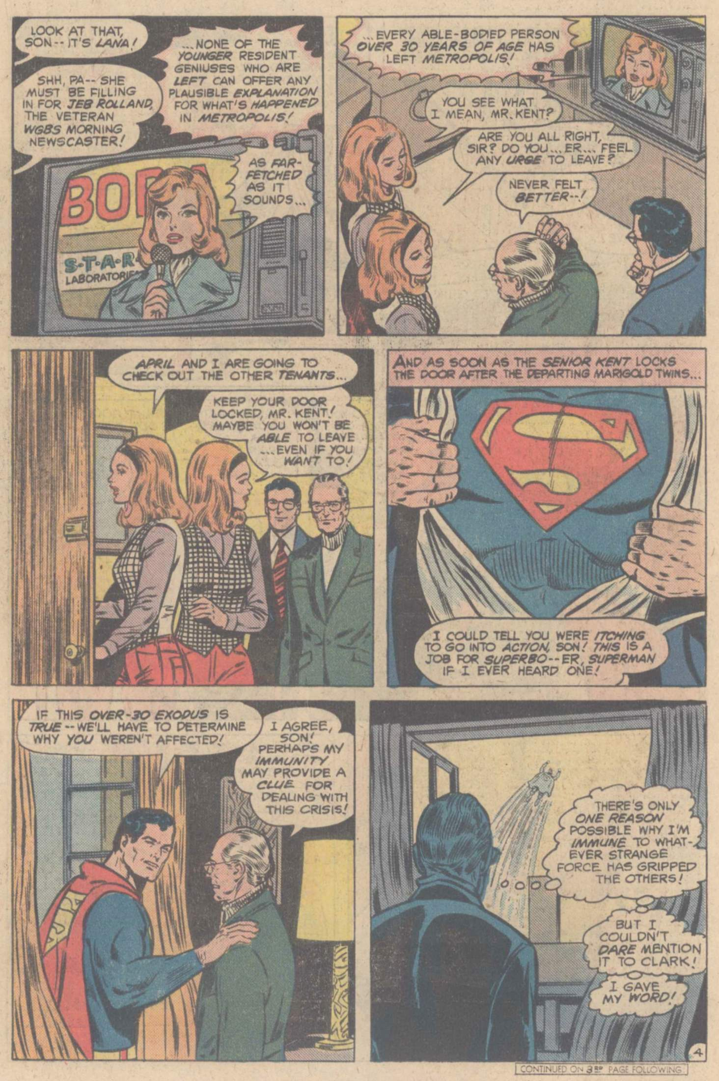 Read online Action Comics (1938) comic -  Issue #508 - 6