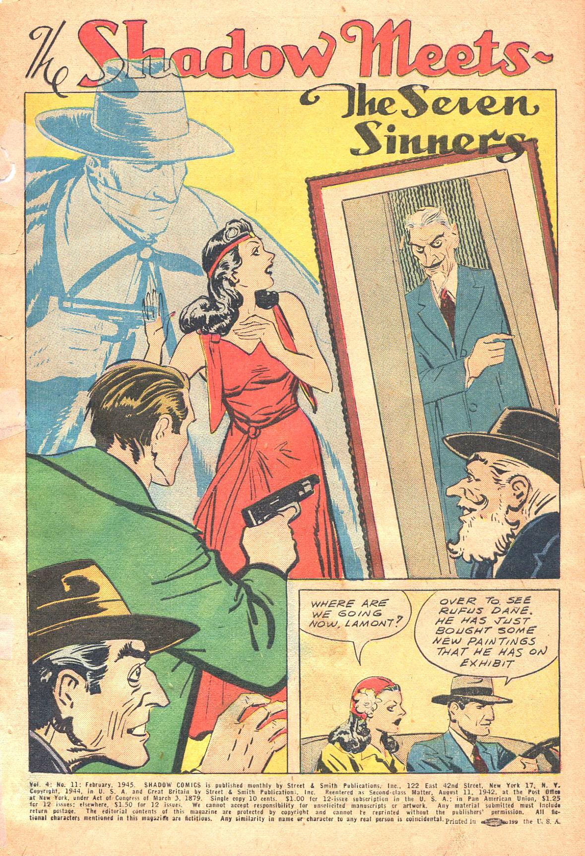 Read online Shadow Comics comic -  Issue #47 - 4