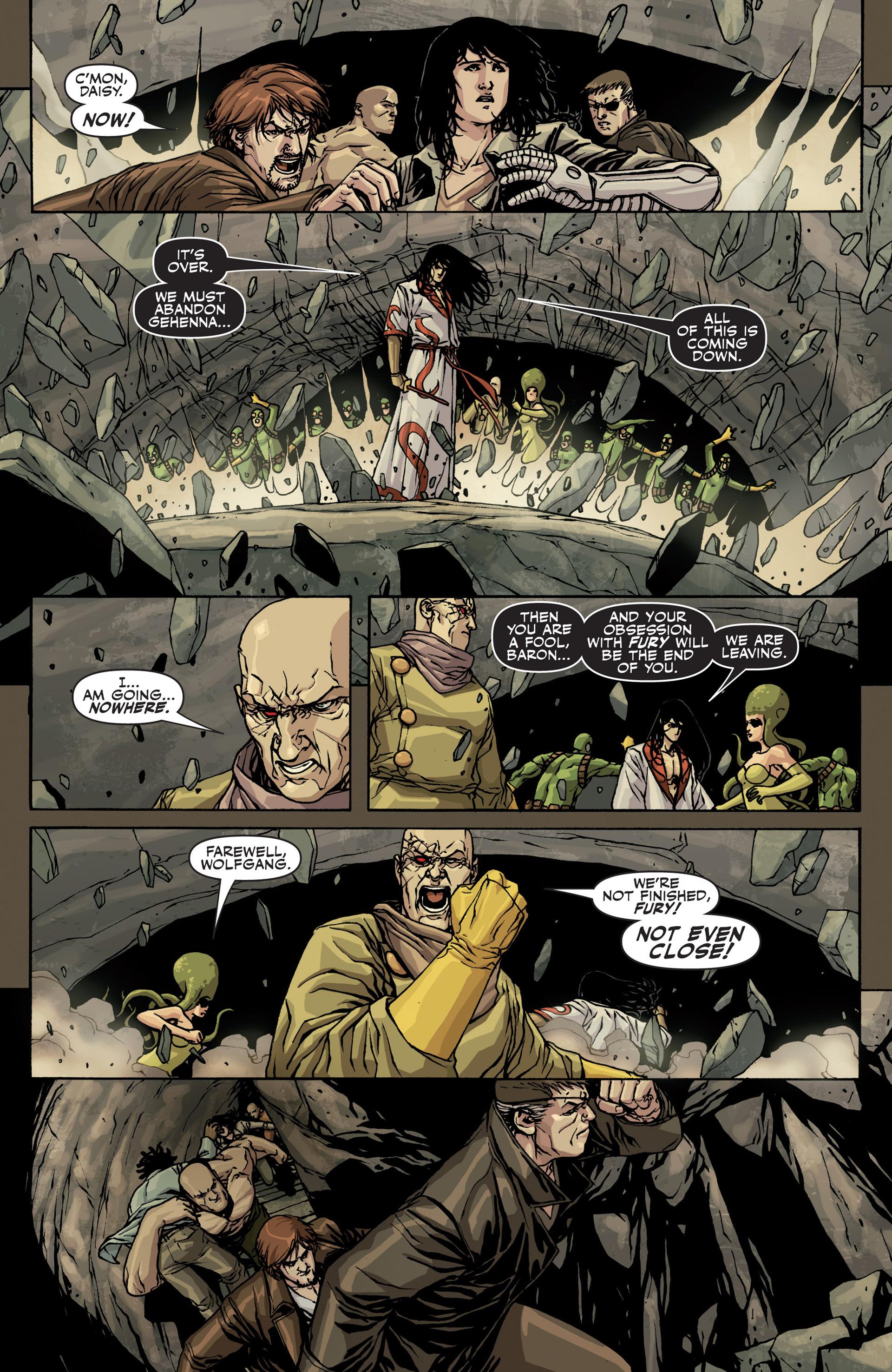 Read online Secret Warriors comic -  Issue #22 - 7