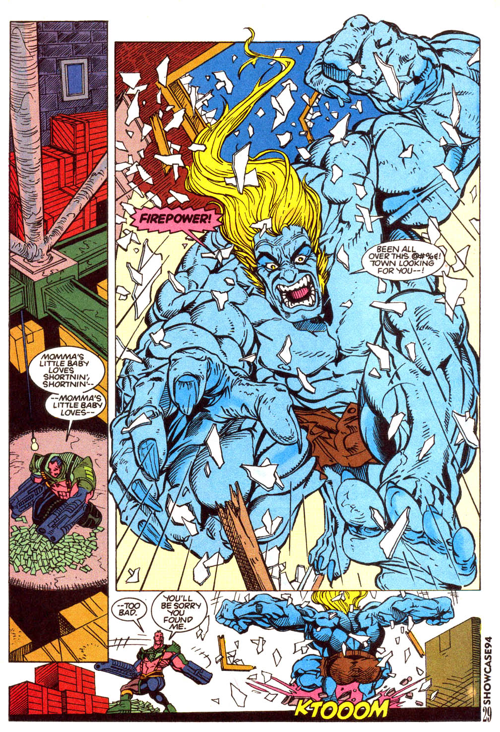 Read online Showcase '94 comic -  Issue #5 - 24