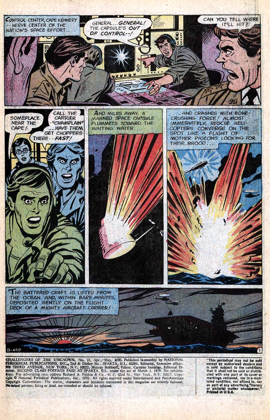 Challengers of the Unknown (1958) issue 73 - Page 2