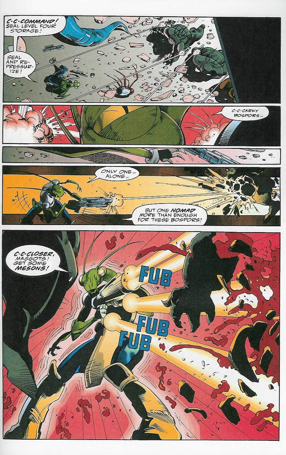 Alien Legion: On the Edge issue 2 - Page 22