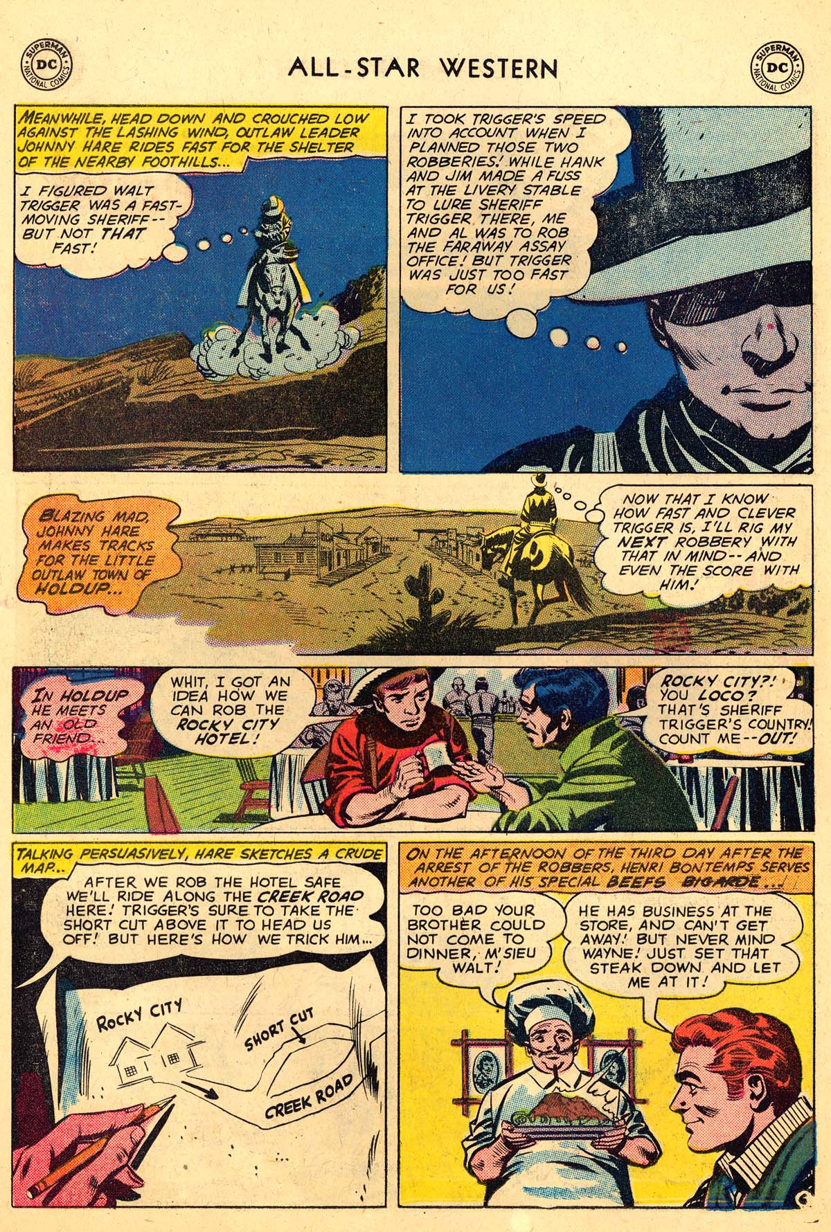 Read online All-Star Western (1951) comic -  Issue #110 - 30