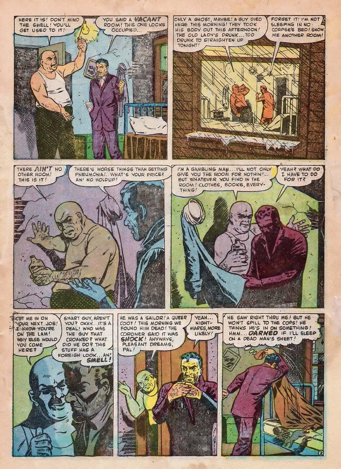Read online Adventures into Weird Worlds comic -  Issue #2 - 23
