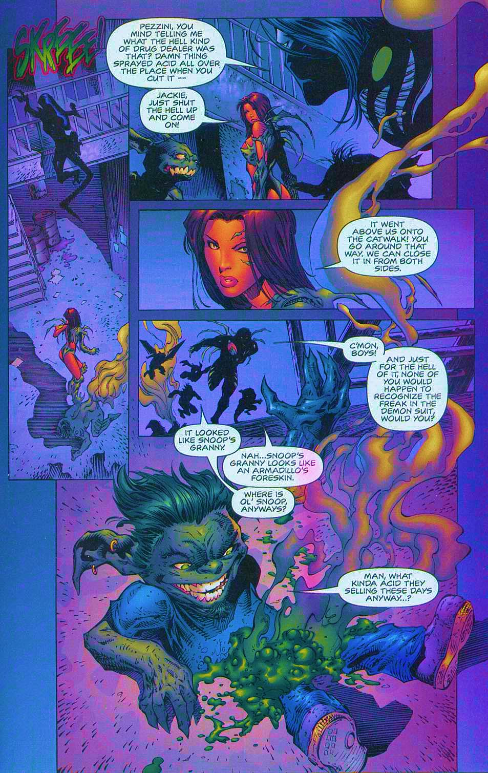 Read online Overkill: Witchblade/Aliens/Darkness/Predator comic -  Issue #1 - 37