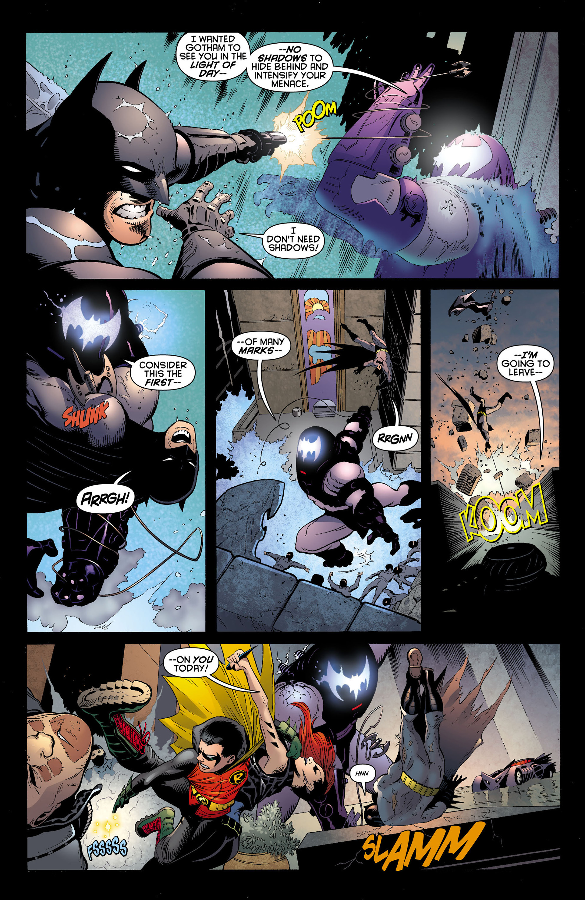 Read online Batman and Robin (2011) comic -  Issue #12 - 4