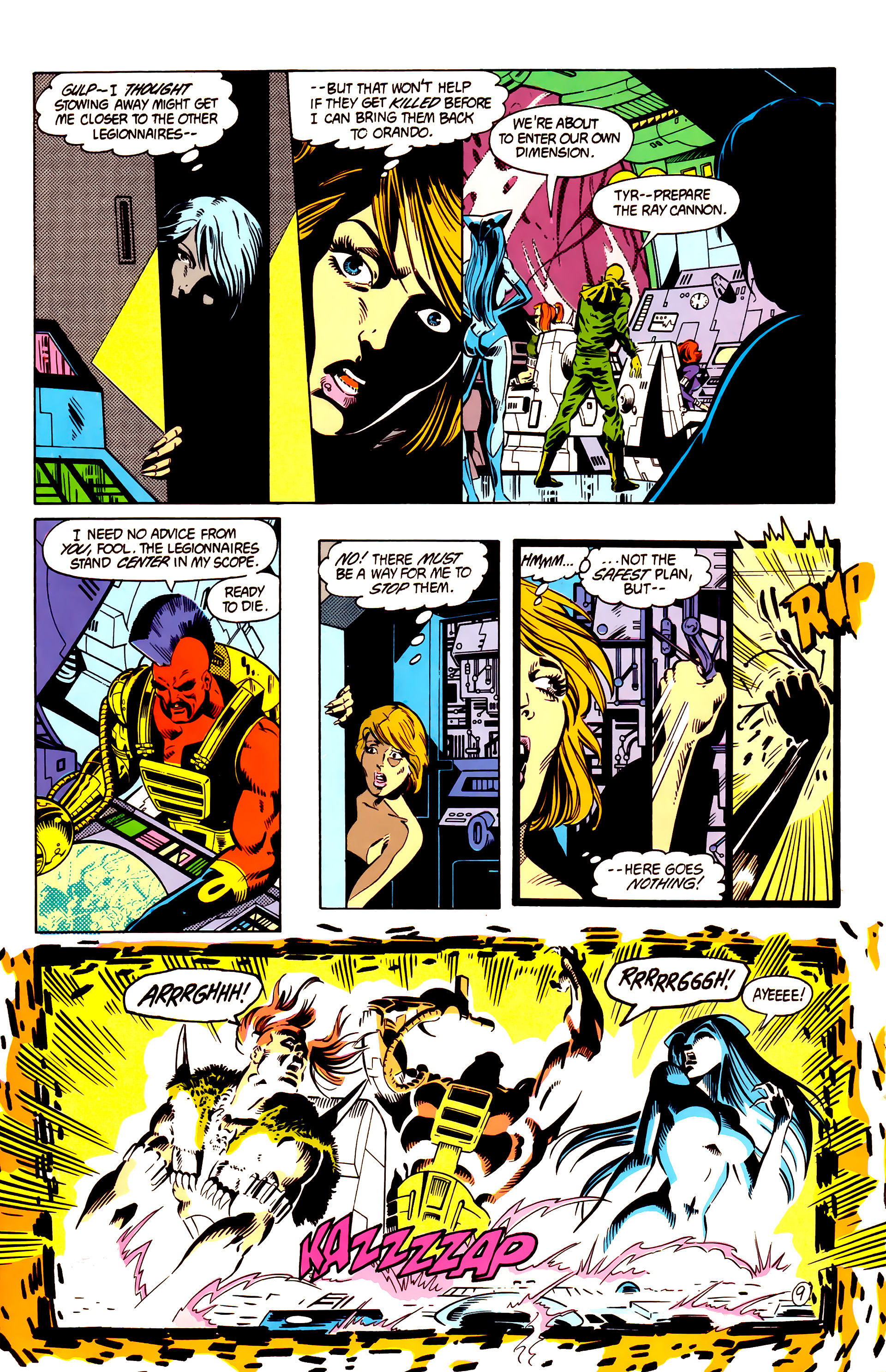 Legion of Super-Heroes (1984) 4 Page 10
