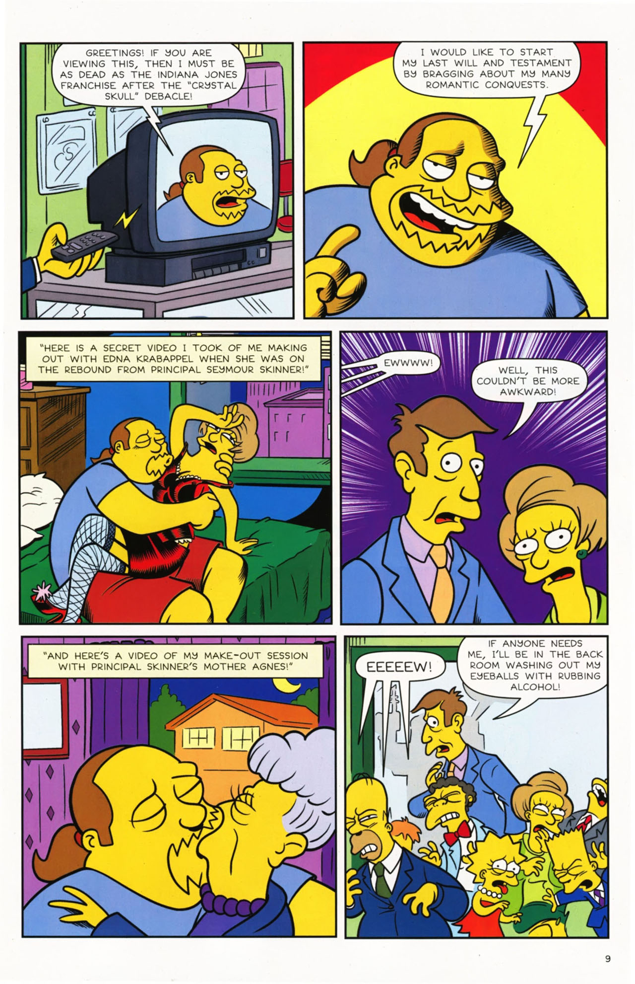 Read online Bongo Comics presents Comic Book Guy: The Comic Book comic -  Issue #2 - 11