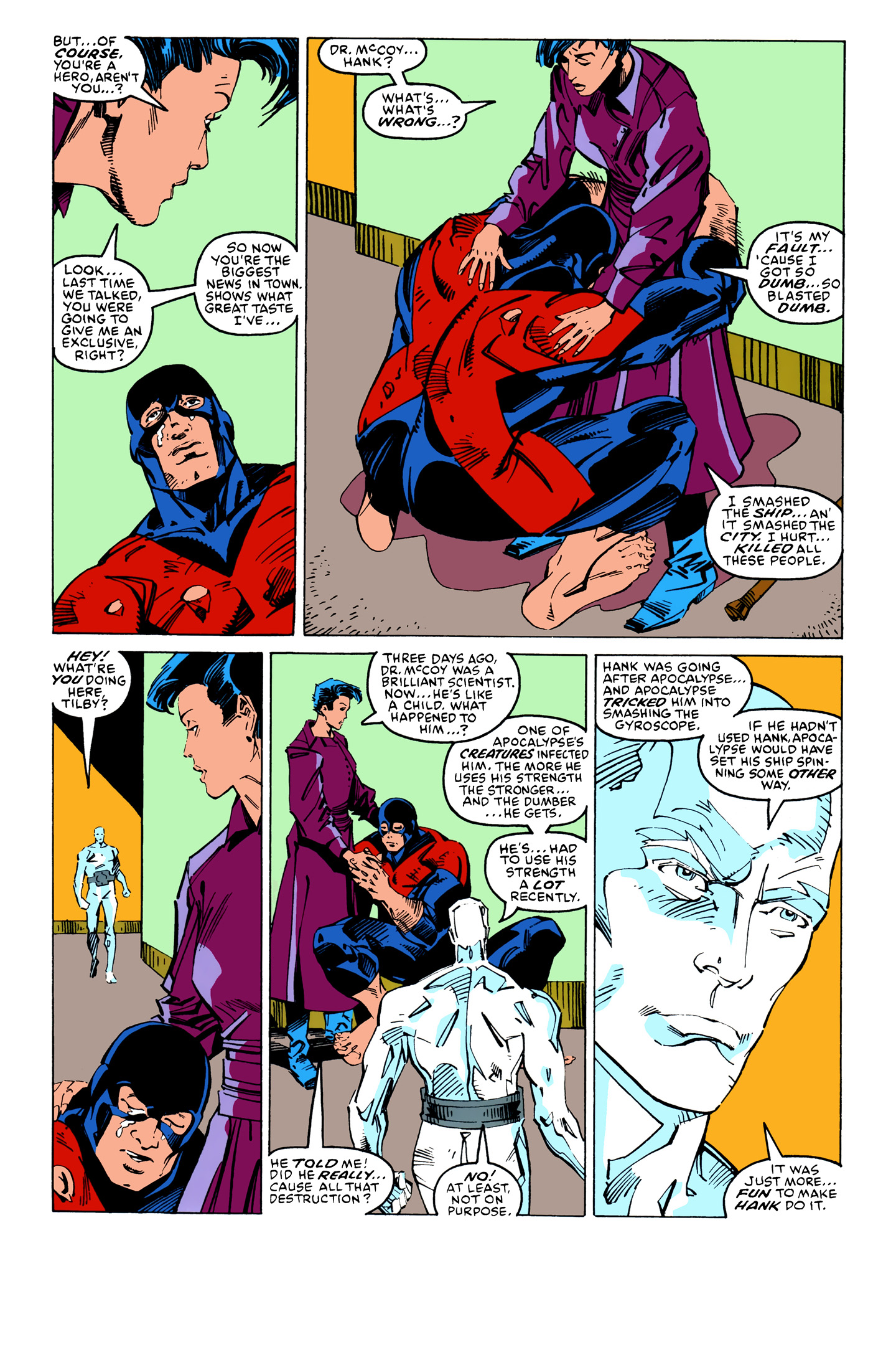 Read online X-Factor (1986) comic -  Issue #26 - 15