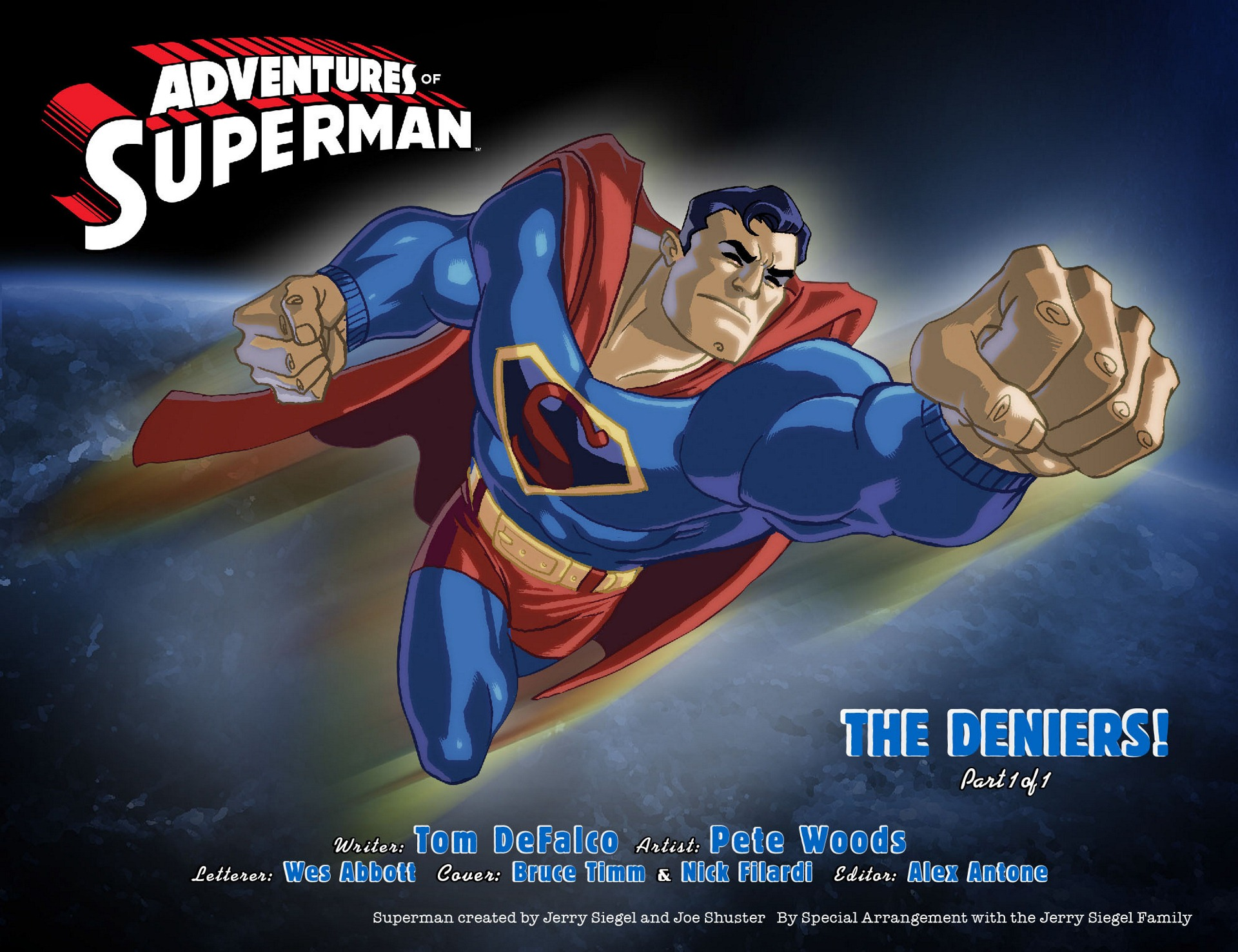 Read online Adventures of Superman [I] comic -  Issue #11 - 2