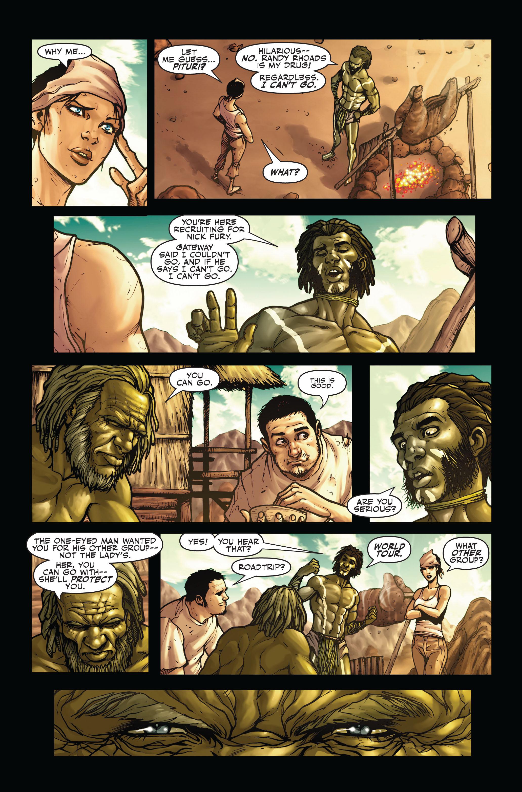 Read online Secret Warriors comic -  Issue #4 - 18