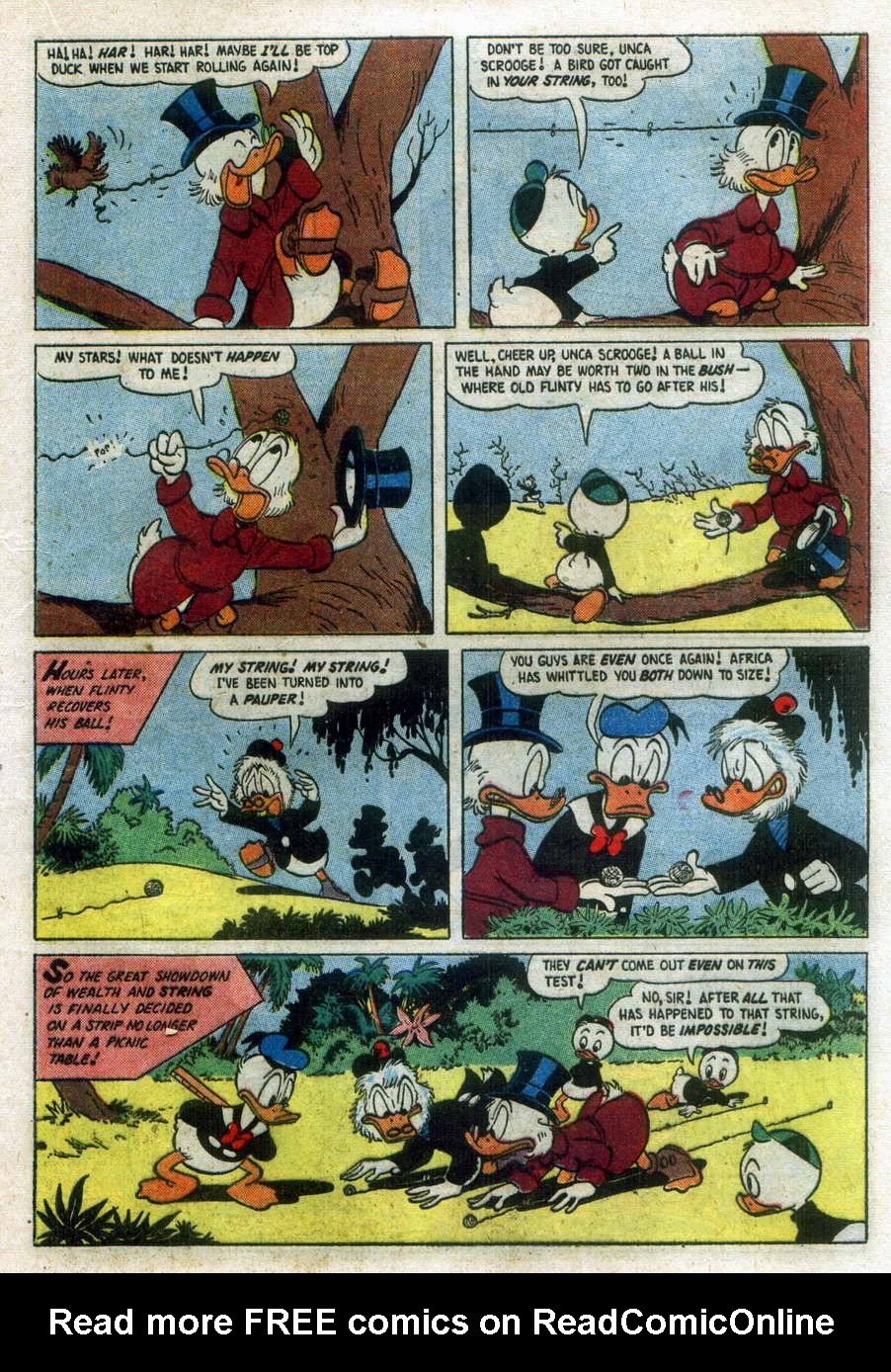 Read online Uncle Scrooge (1953) comic -  Issue #15 - 21