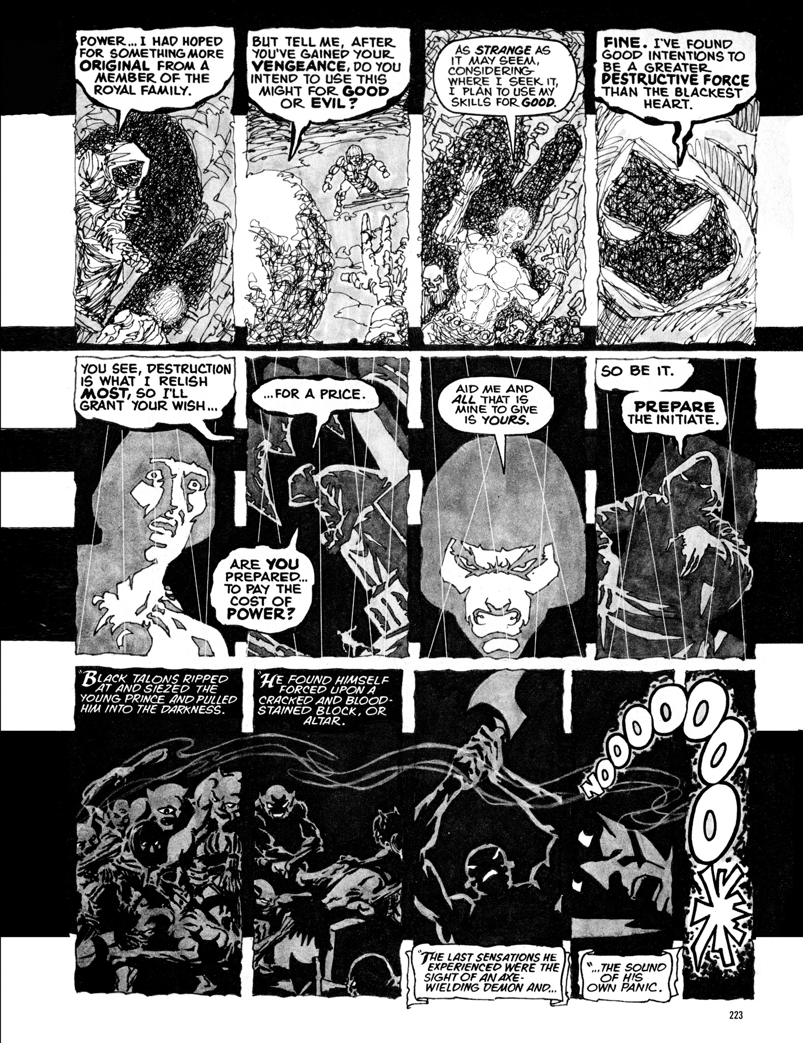 Read online Eerie Archives comic -  Issue # TPB 16 - 224