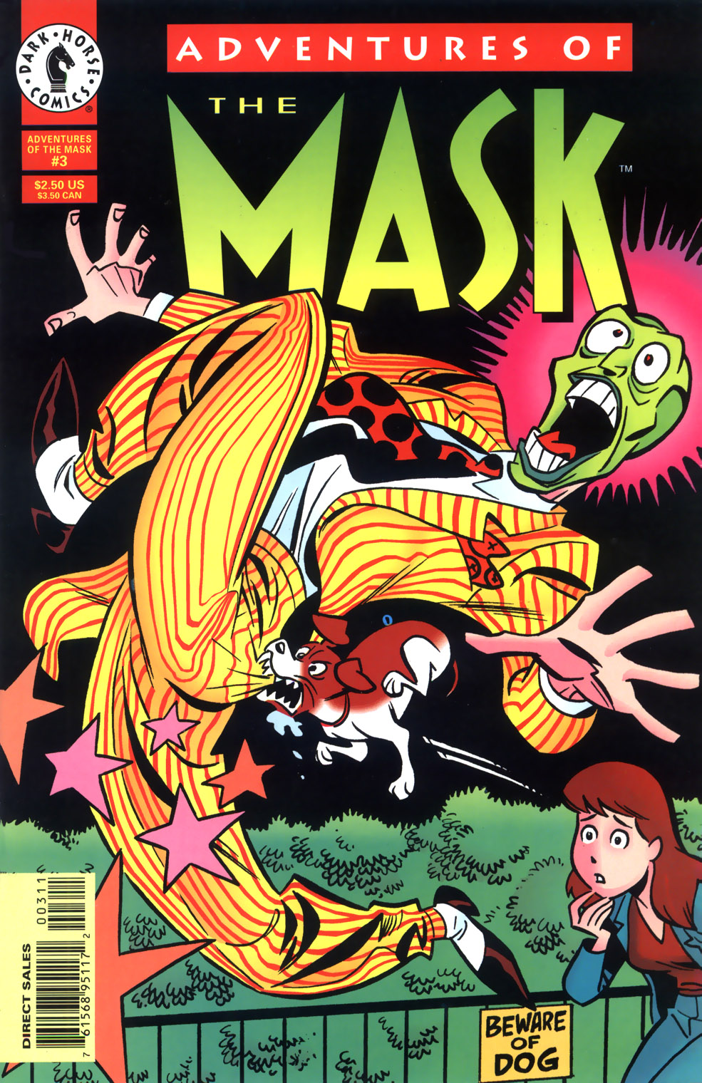 Read online Adventures Of The Mask comic -  Issue #3 - 1