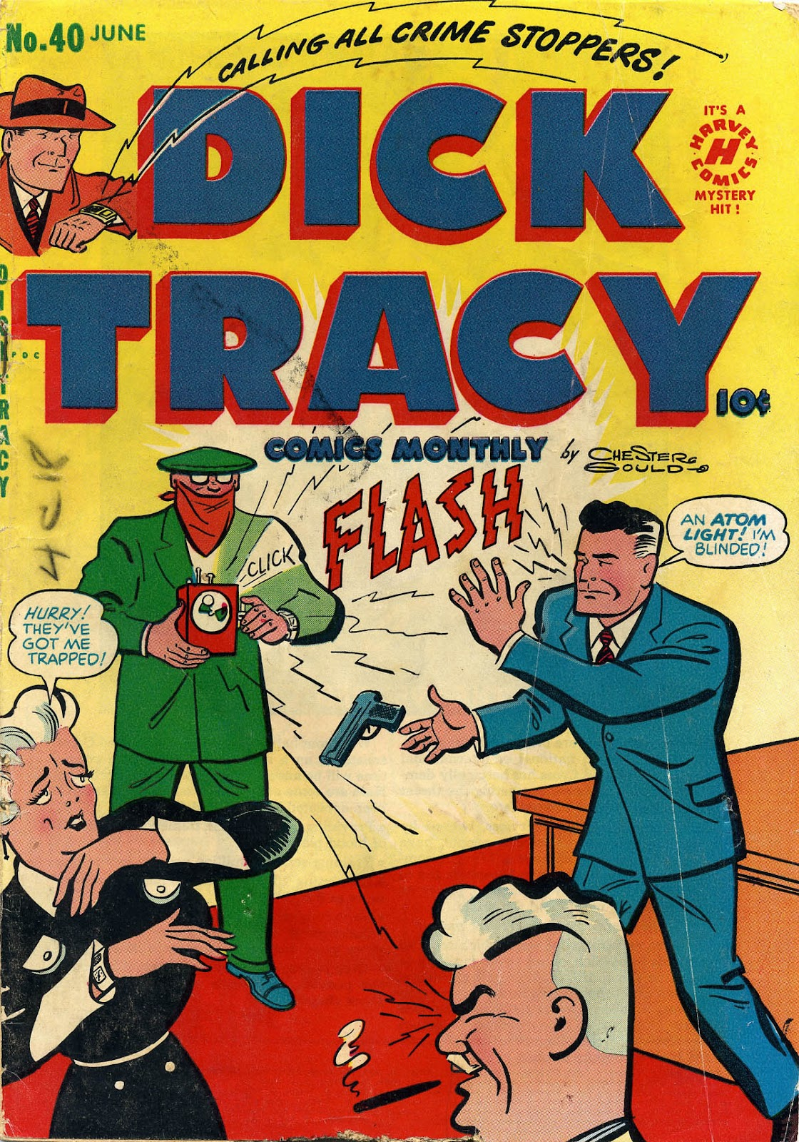 Dick Tracy (1950) 40 Page 1