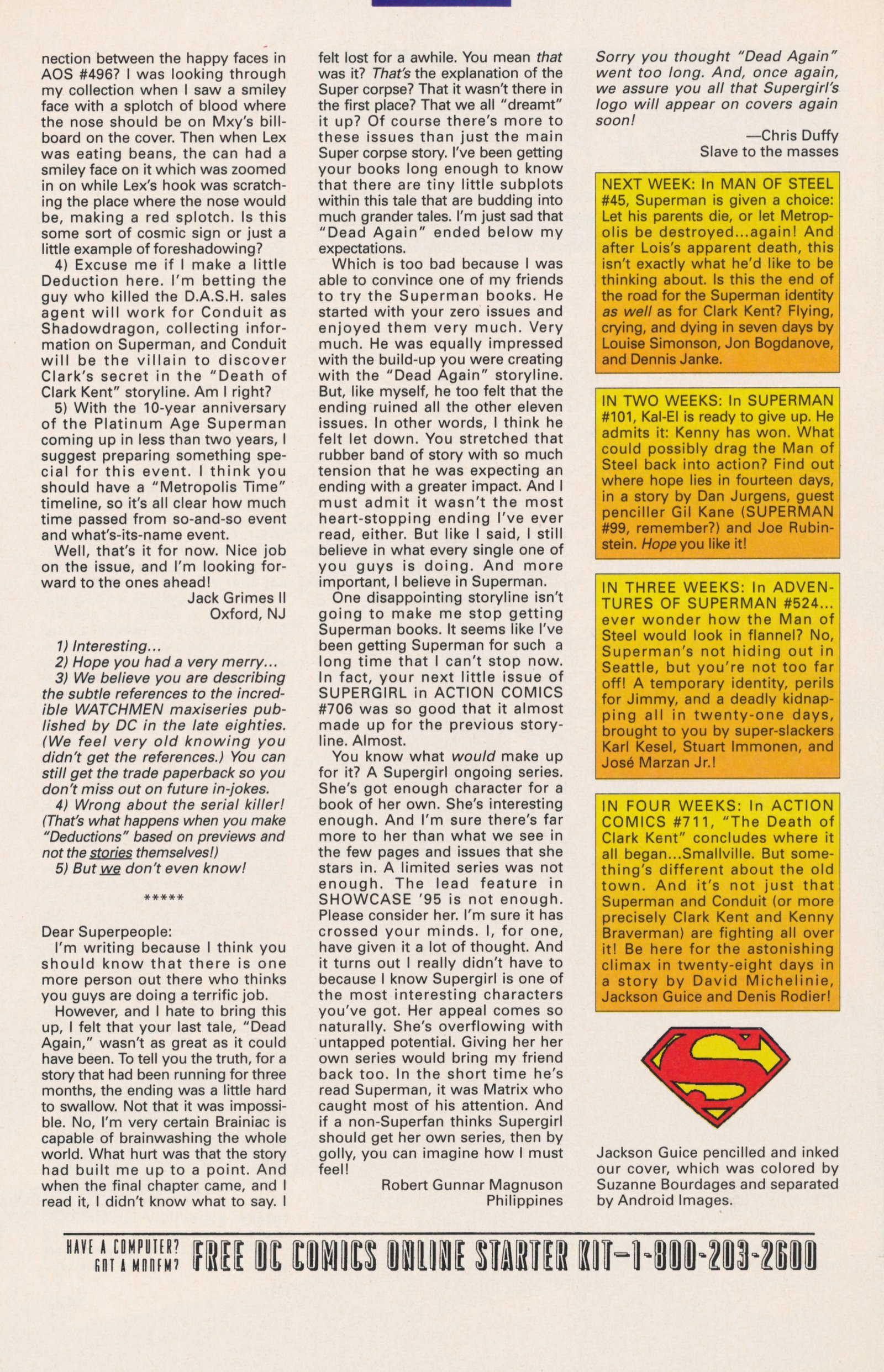 Read online Action Comics (1938) comic -  Issue #710 - 33