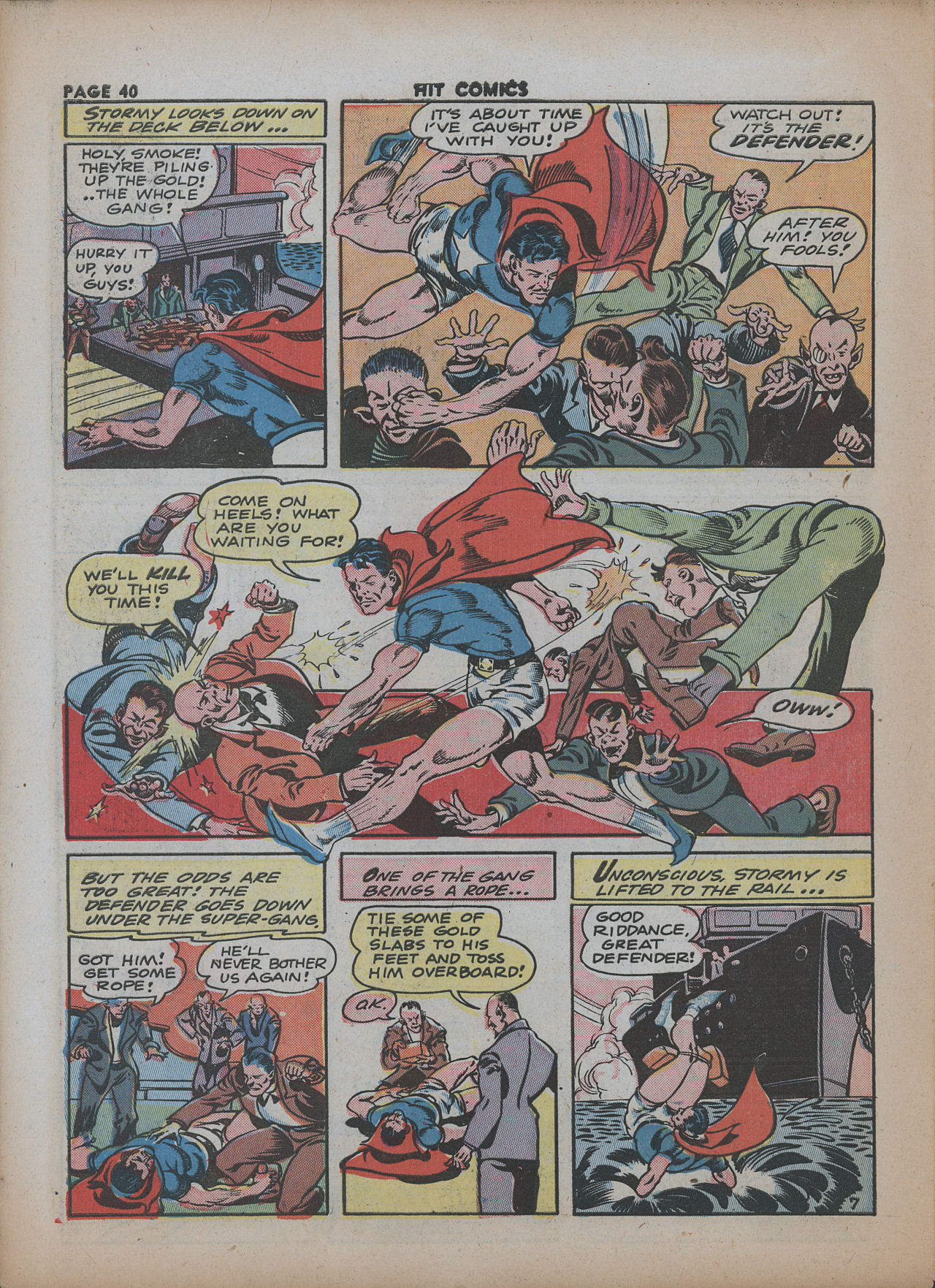Read online Hit Comics comic -  Issue #26 - 41