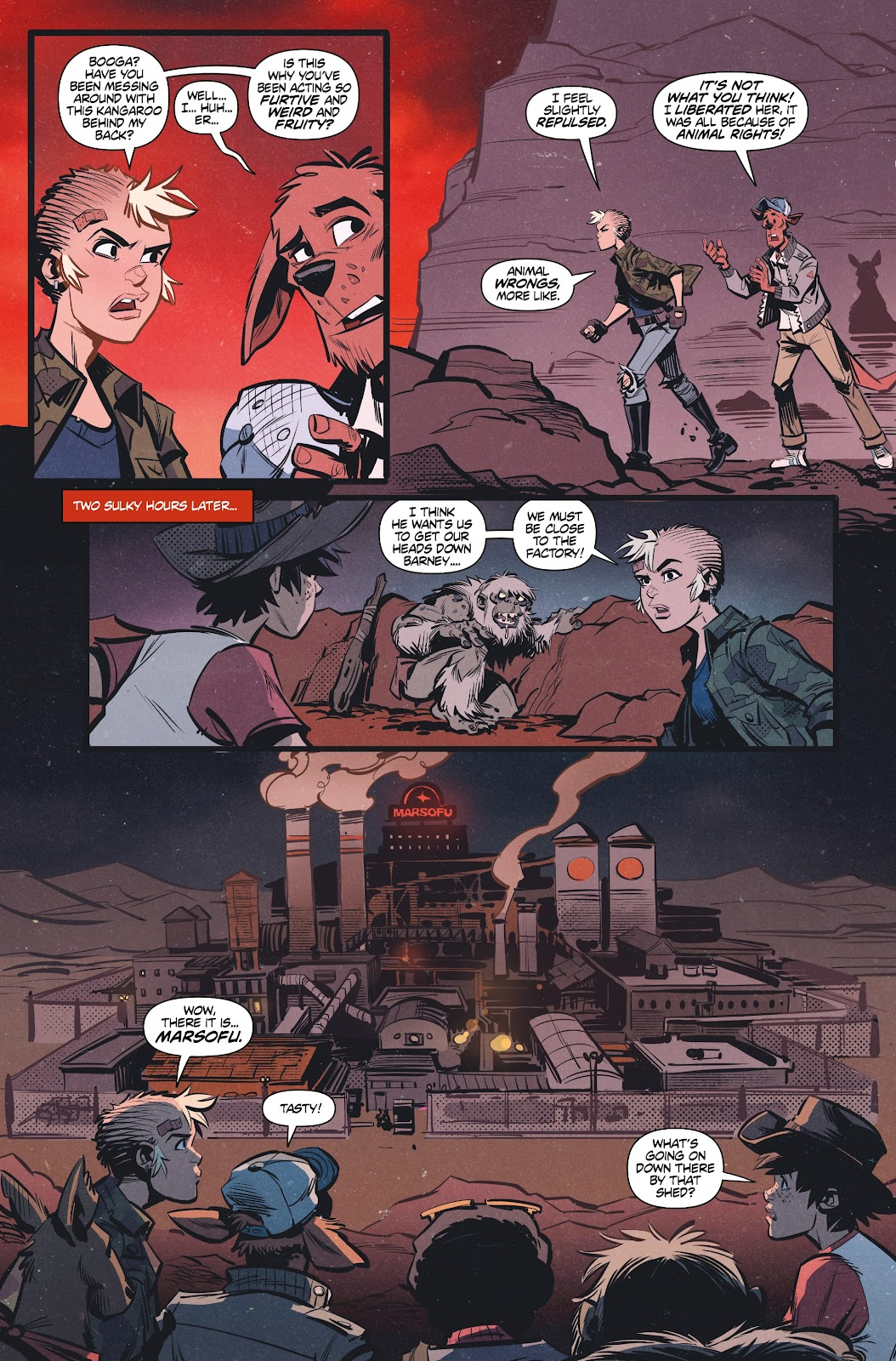 Read online Tank Girl Ongoing comic -  Issue #3 - 17