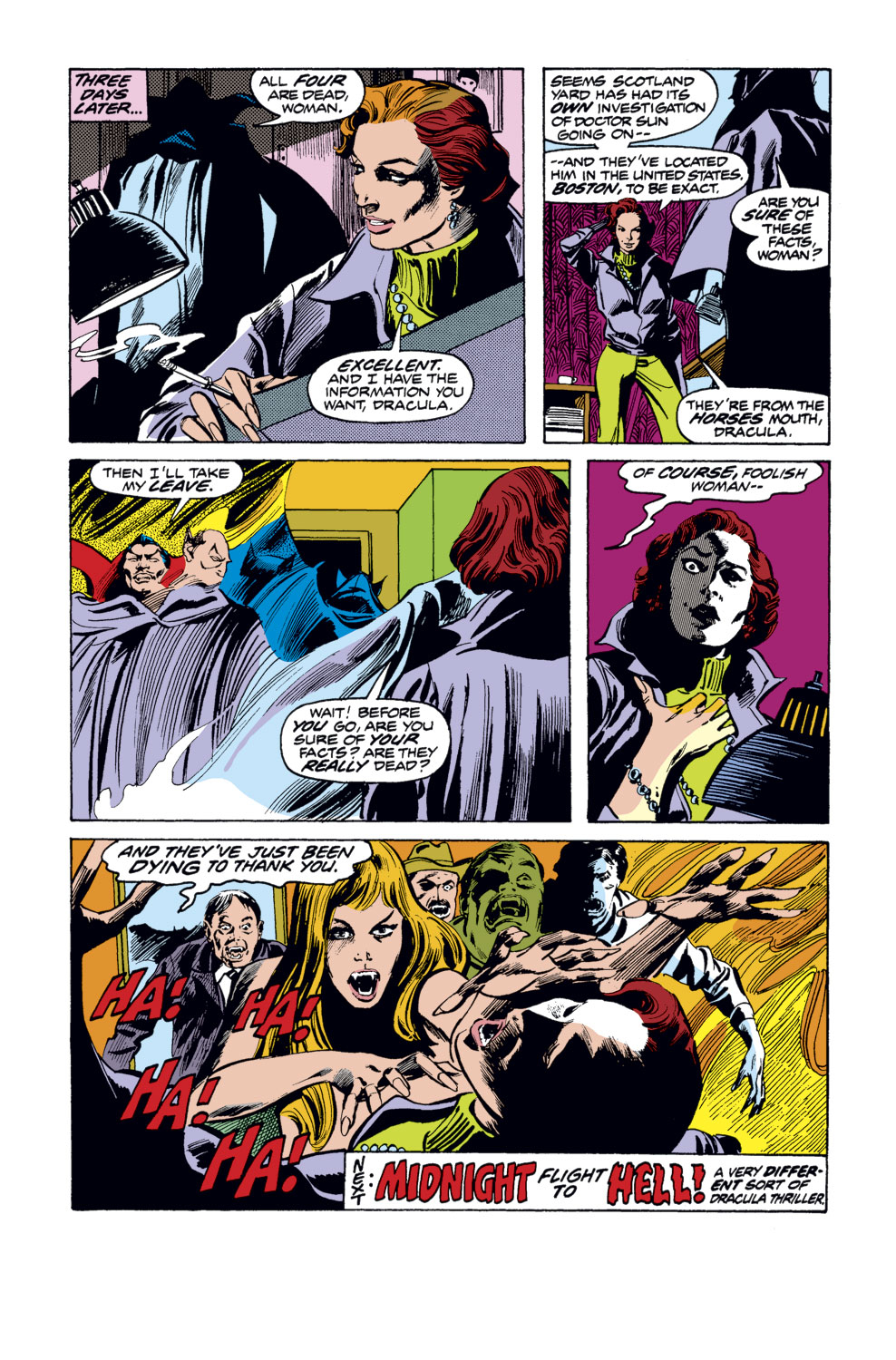 Tomb of Dracula (1972) issue 35 - Page 19