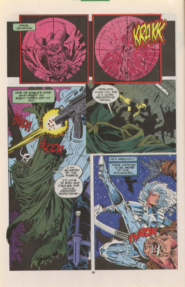 Read online Silver Sable and the Wild Pack comic -  Issue #10 - 9