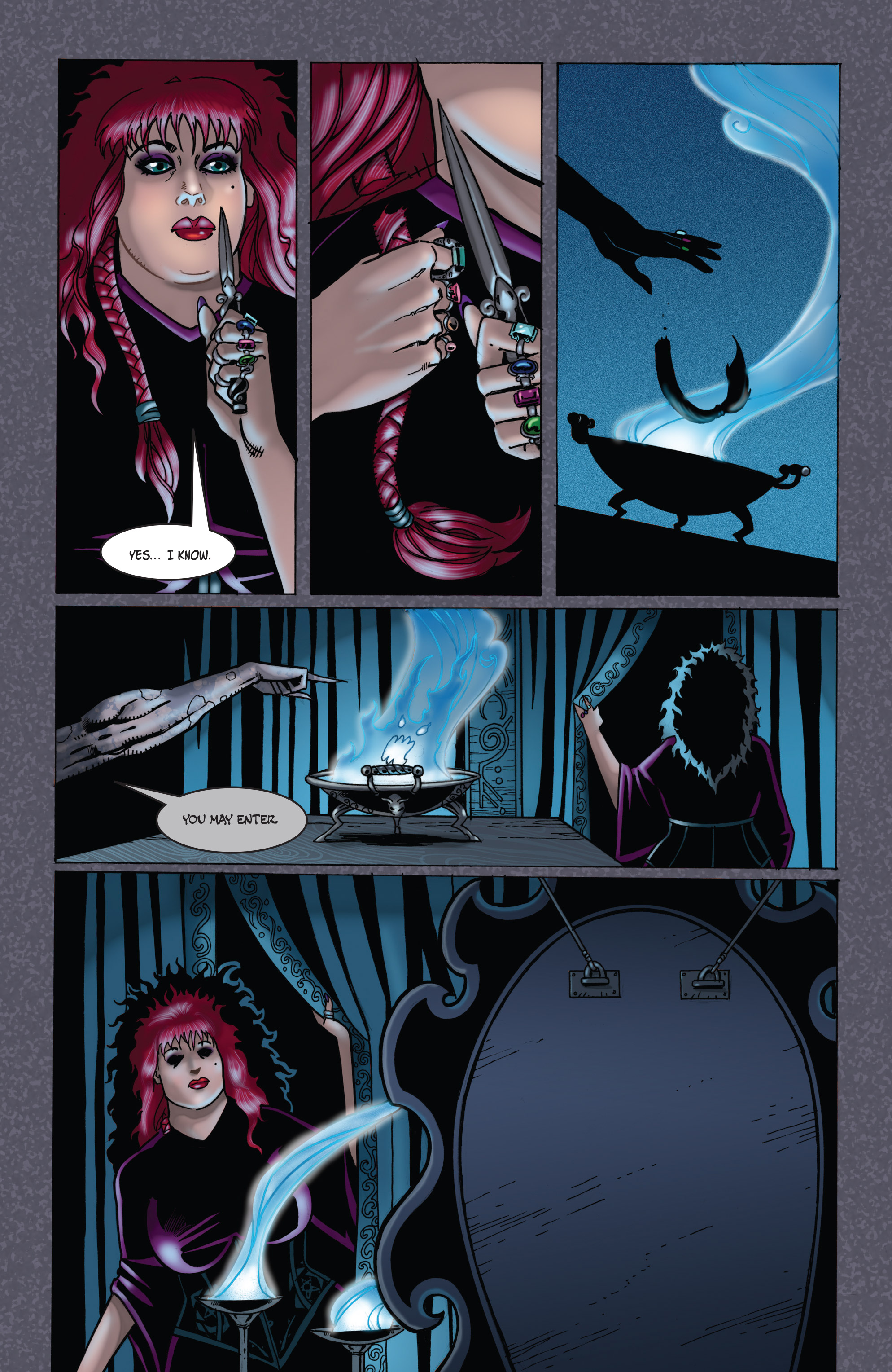 Read online Tarot: Witch of the Black Rose comic -  Issue #104 - 24