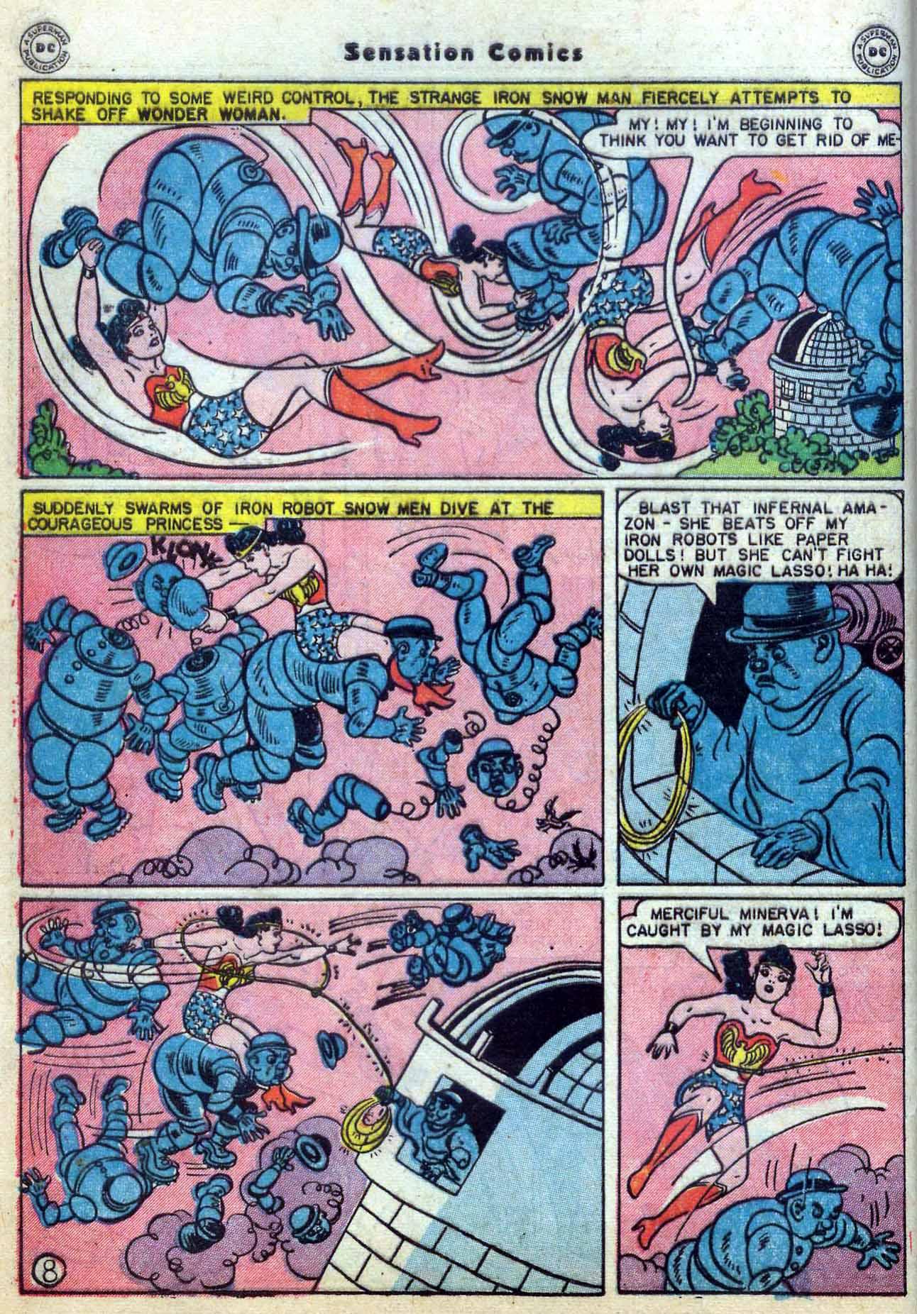 Read online Sensation (Mystery) Comics comic -  Issue #59 - 10