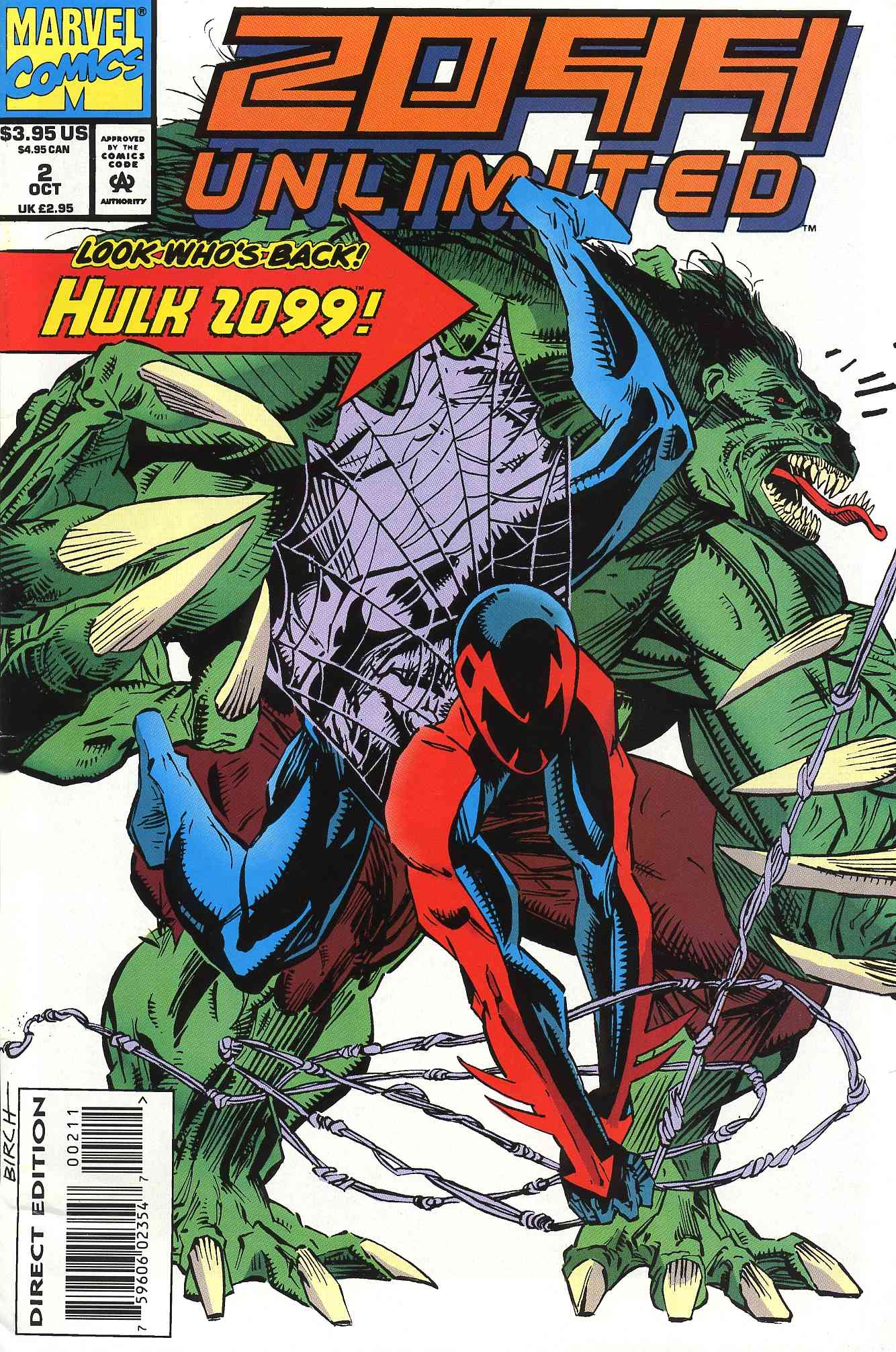 Read online 2099 Unlimited comic -  Issue #2 - 1