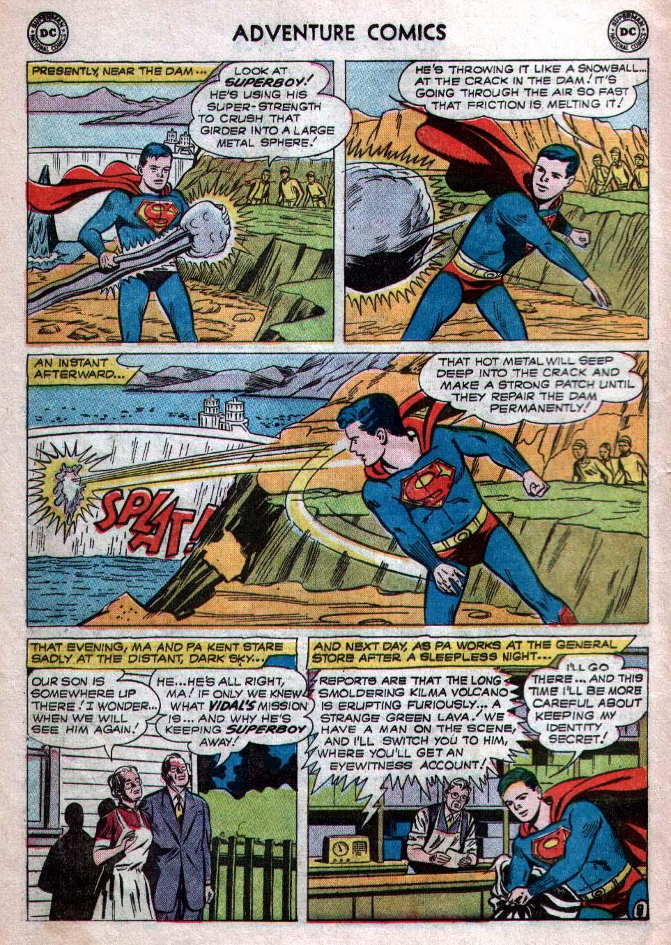 Read online Adventure Comics (1938) comic -  Issue #260 - 10