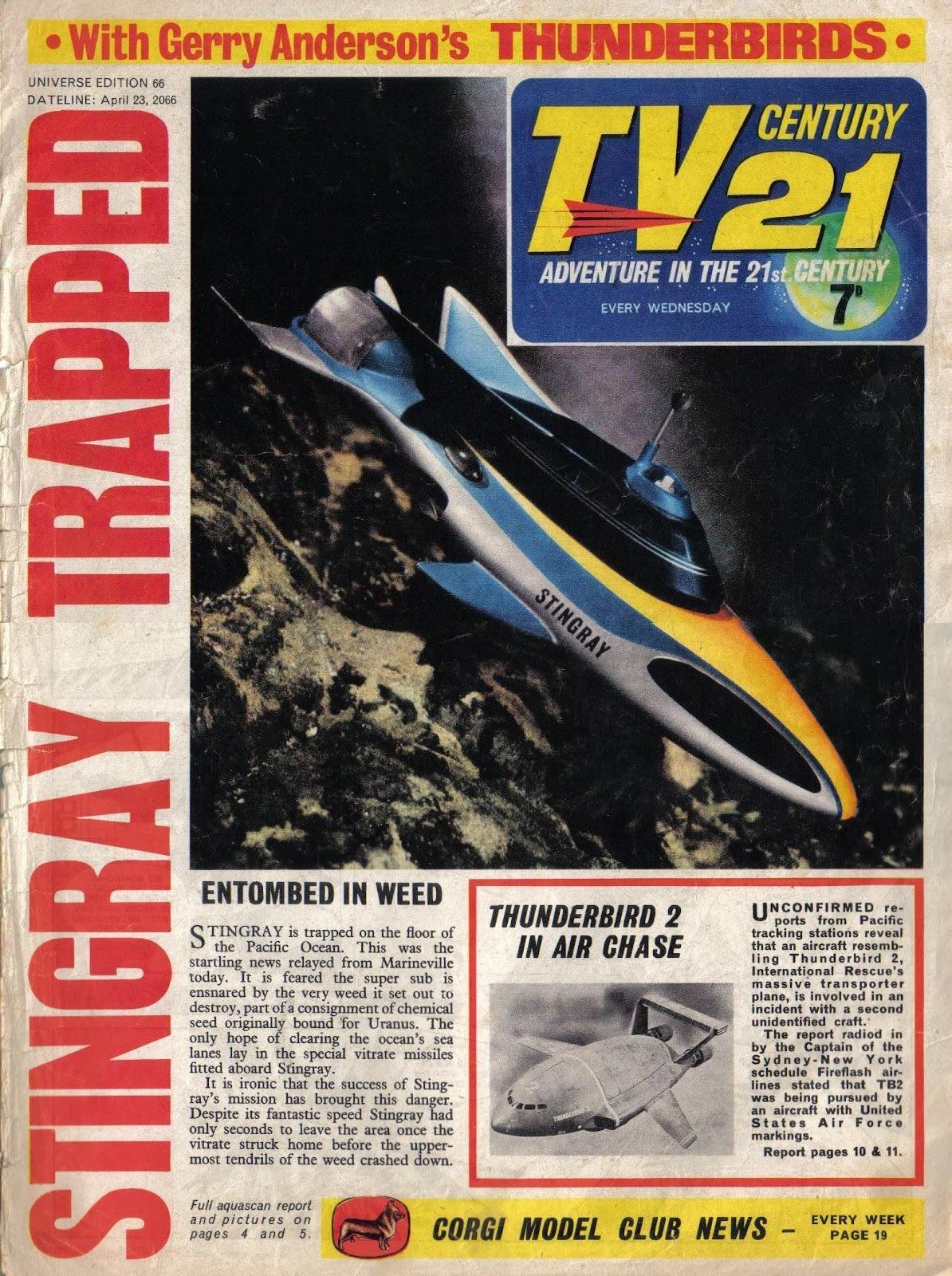 TV Century 21 (TV 21) issue 66 - Page 1