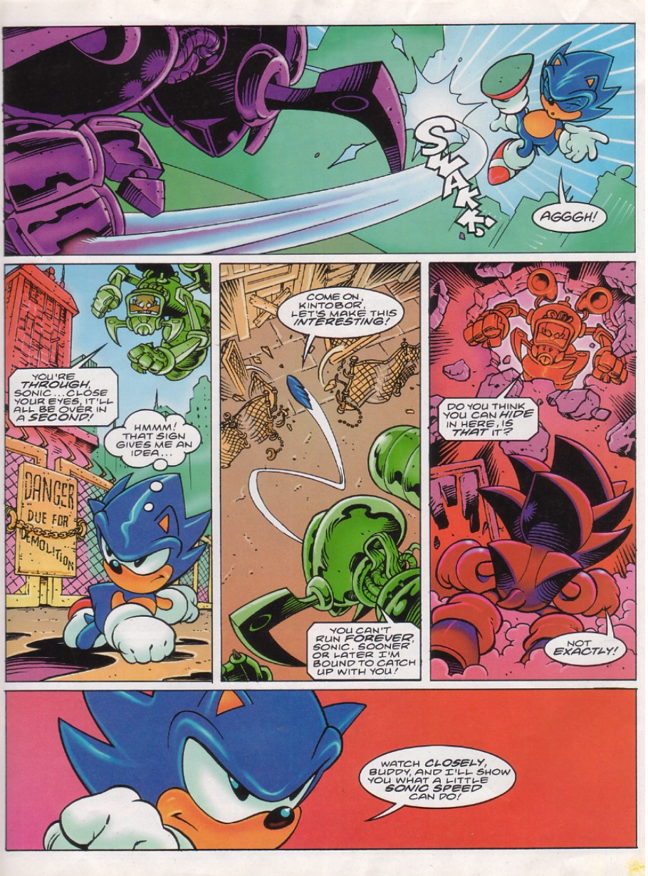 Read online Sonic the Comic comic -  Issue #144 - 5