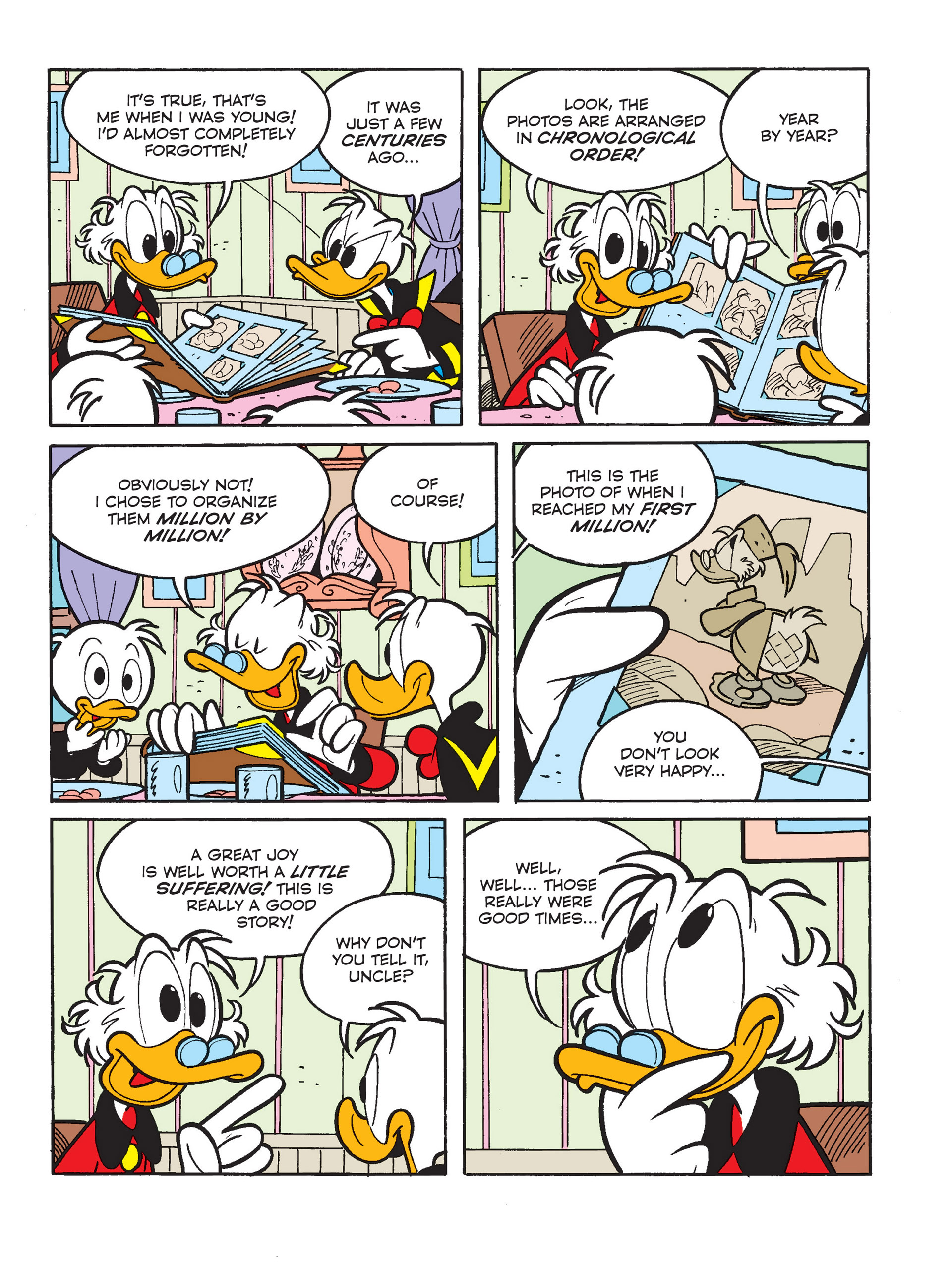 Read online All of Scrooge McDuck's Millions comic -  Issue #1 - 5