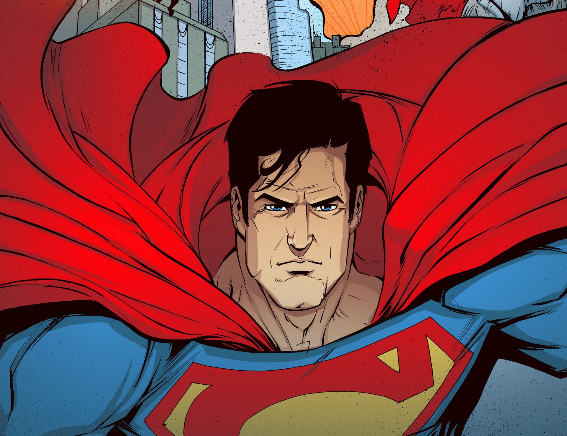 Read online Adventures of Superman [I] comic -  Issue #5 - 16