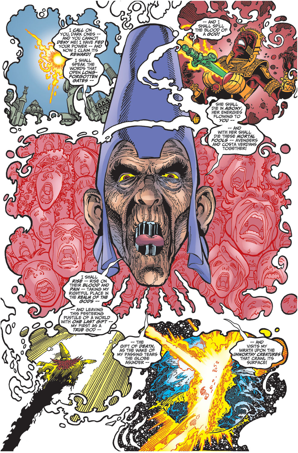 Read online Avengers (1998) comic -  Issue #30 - 4