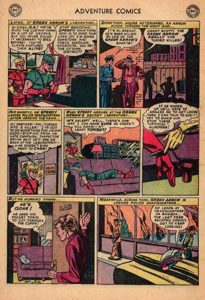 Read online Adventure Comics (1938) comic -  Issue #187 - 39