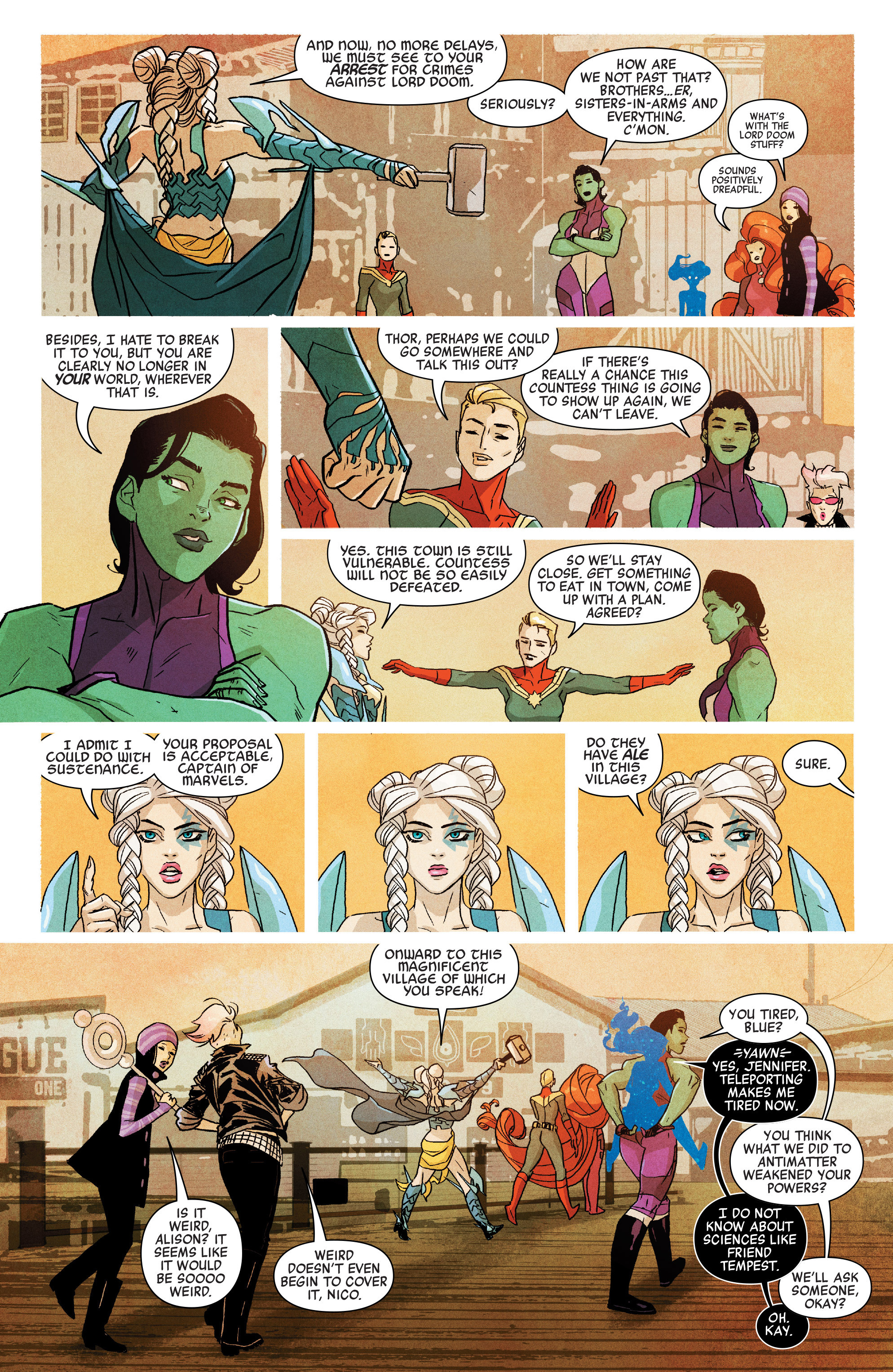 Read online A-Force (2016) comic -  Issue #5 - 14