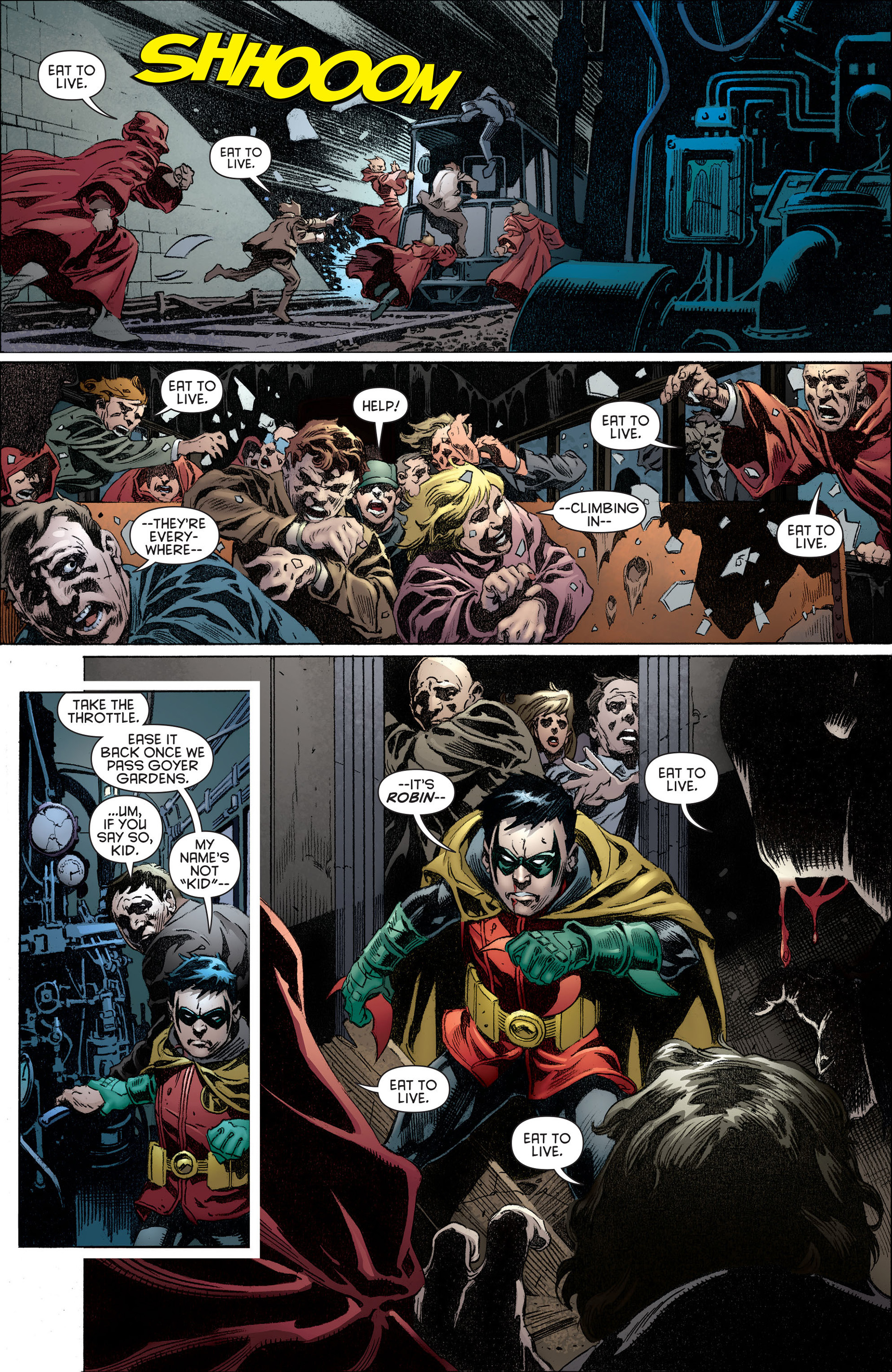 Read online Batman and Robin (2011) comic -  Issue #14 - 13