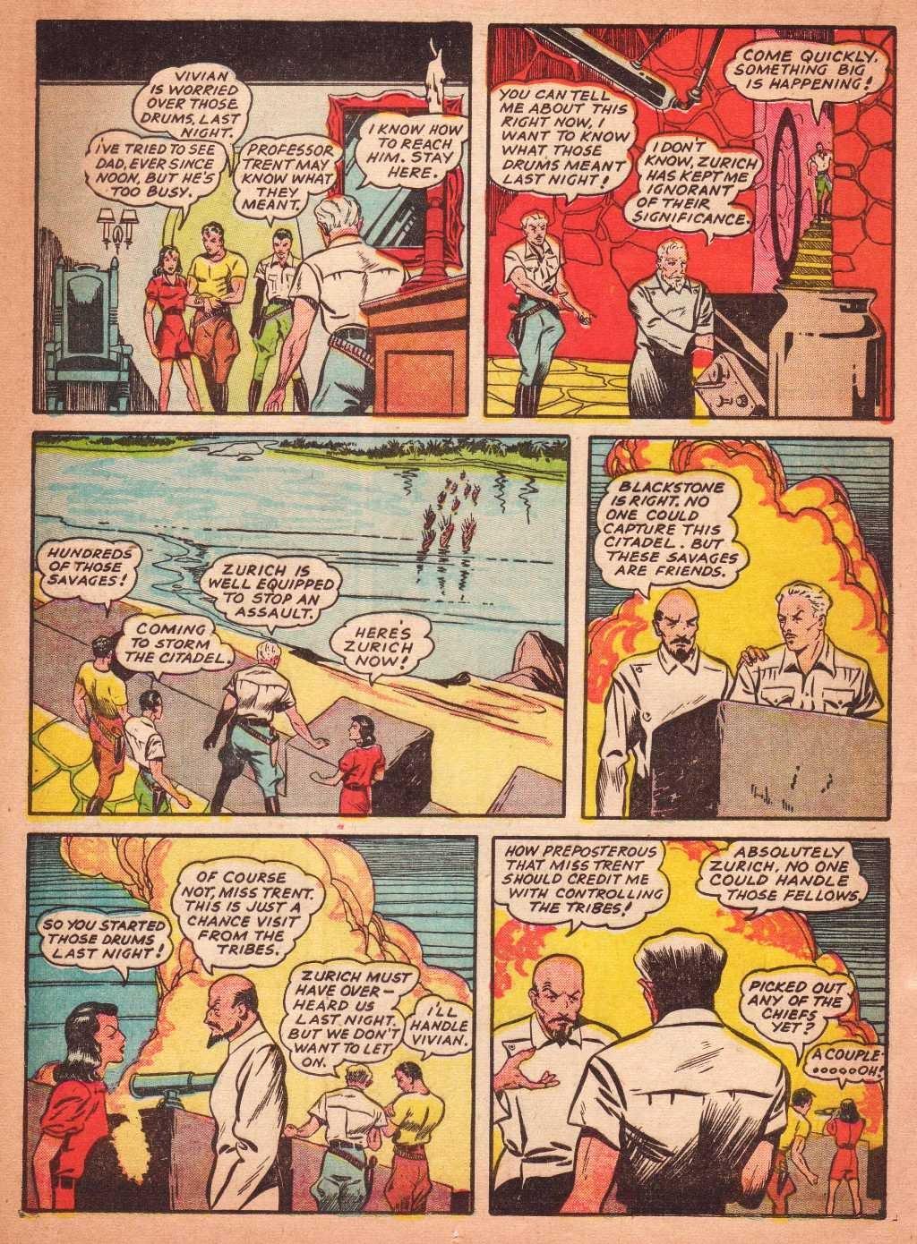 Read online Super-Magician Comics comic -  Issue #2 - 26