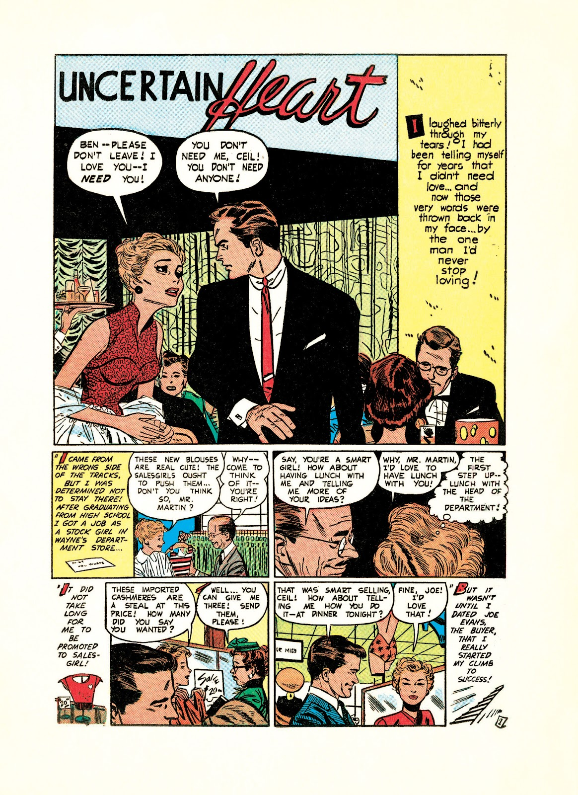 Read online Setting the Standard: Comics by Alex Toth 1952-1954 comic -  Issue # TPB (Part 4) - 1