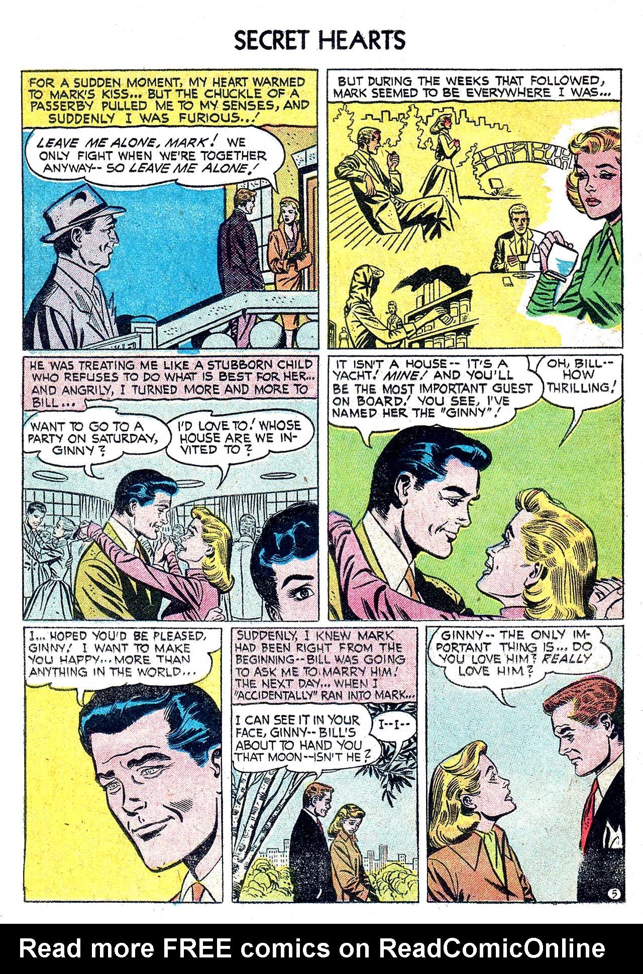 Read online Secret Hearts comic -  Issue #32 - 14