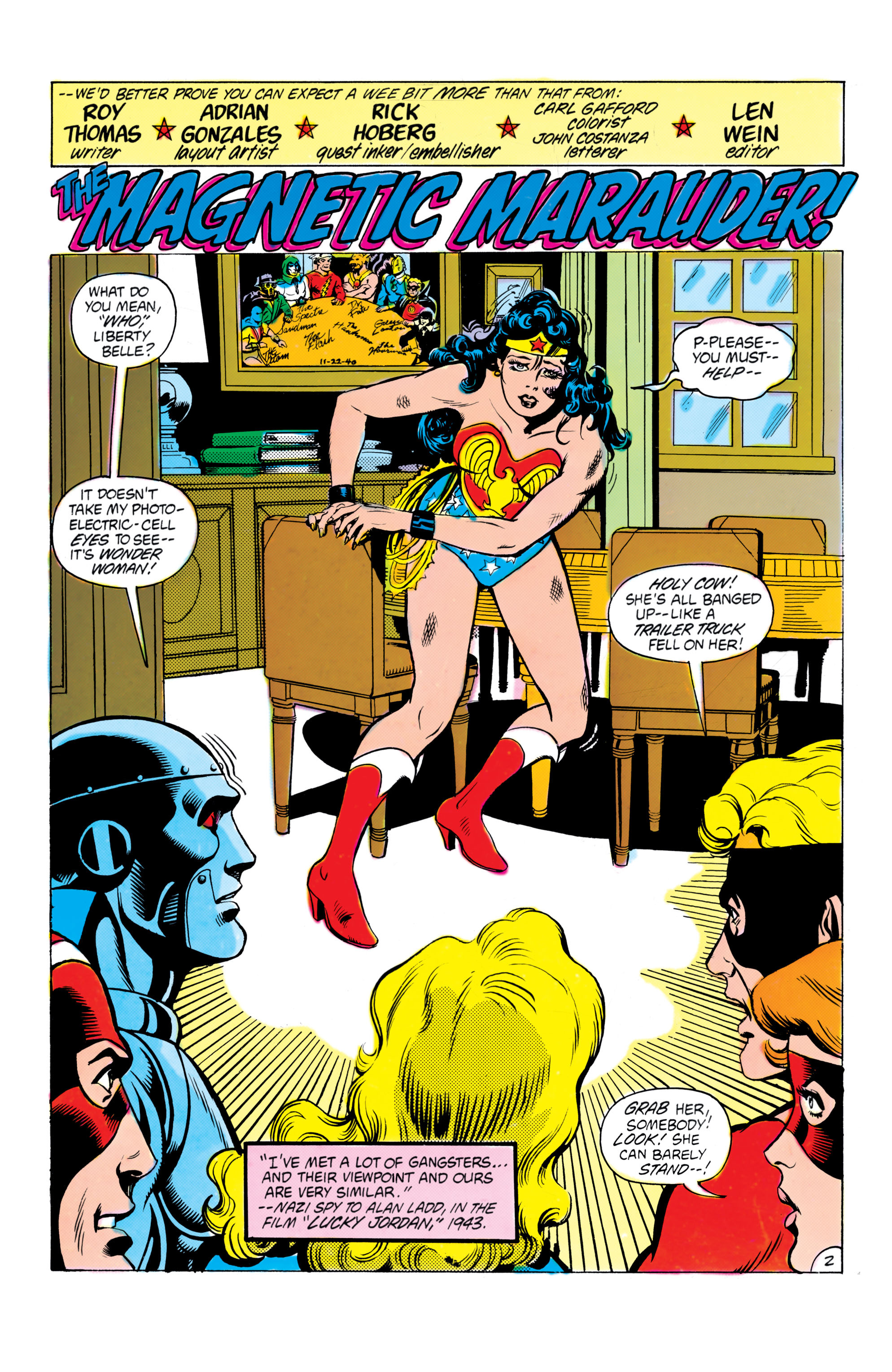 Read online All-Star Squadron comic -  Issue #16 - 3
