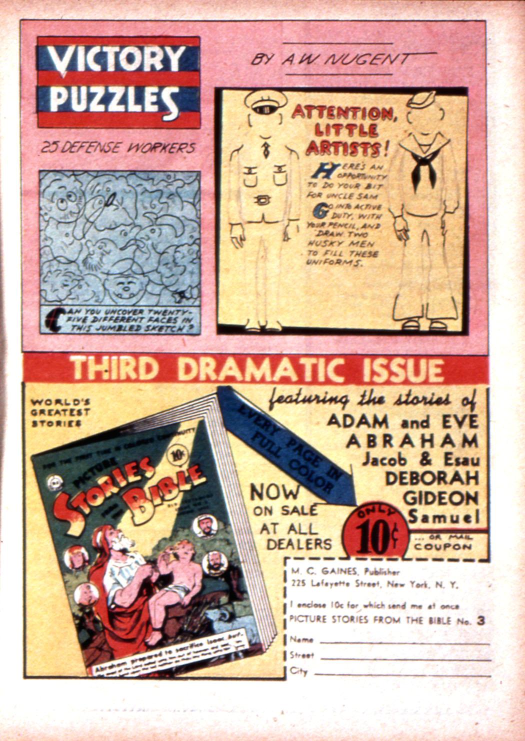 Read online Sensation (Mystery) Comics comic -  Issue #19 - 23