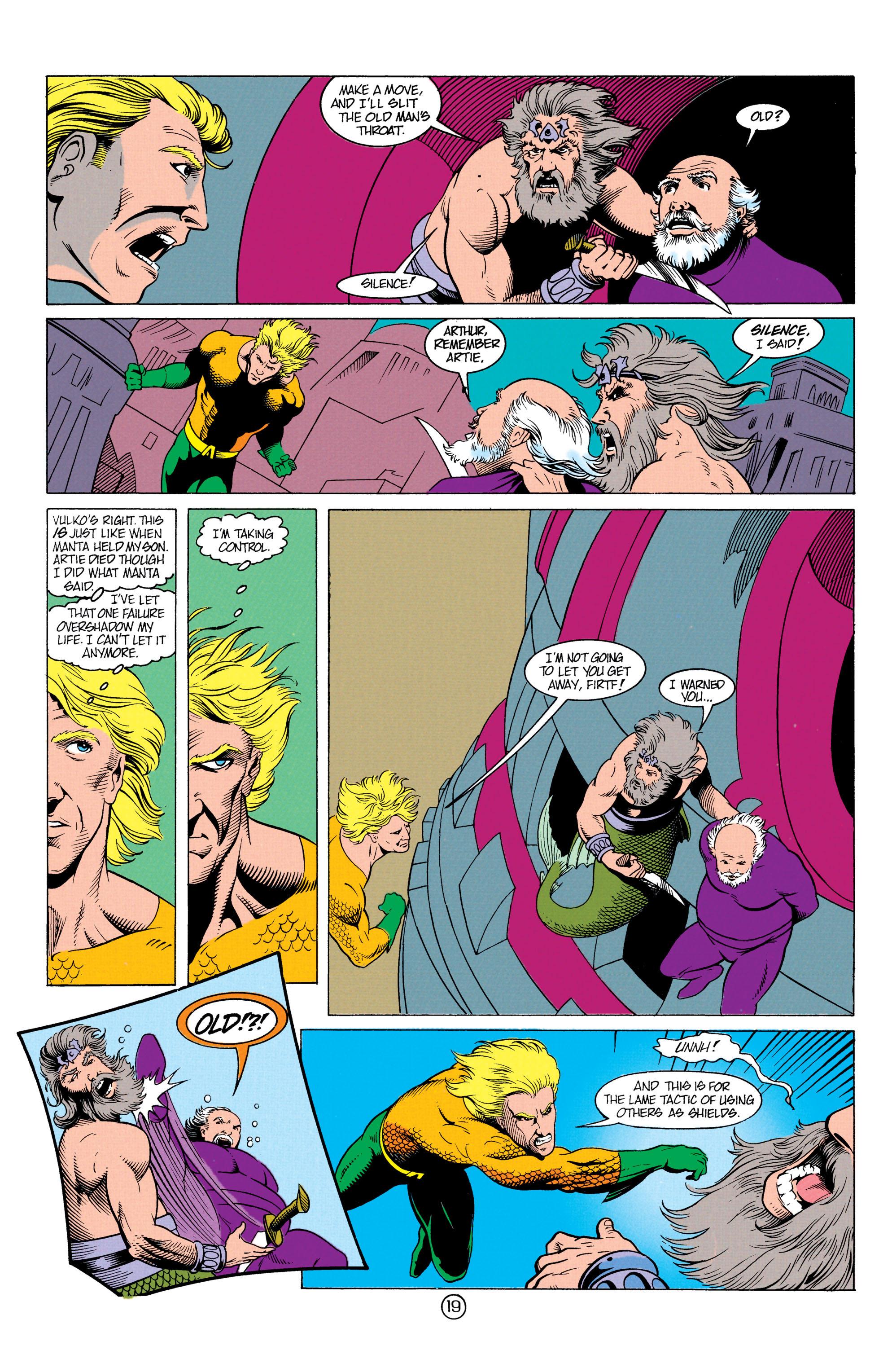 Read online Aquaman (1991) comic -  Issue #12 - 19