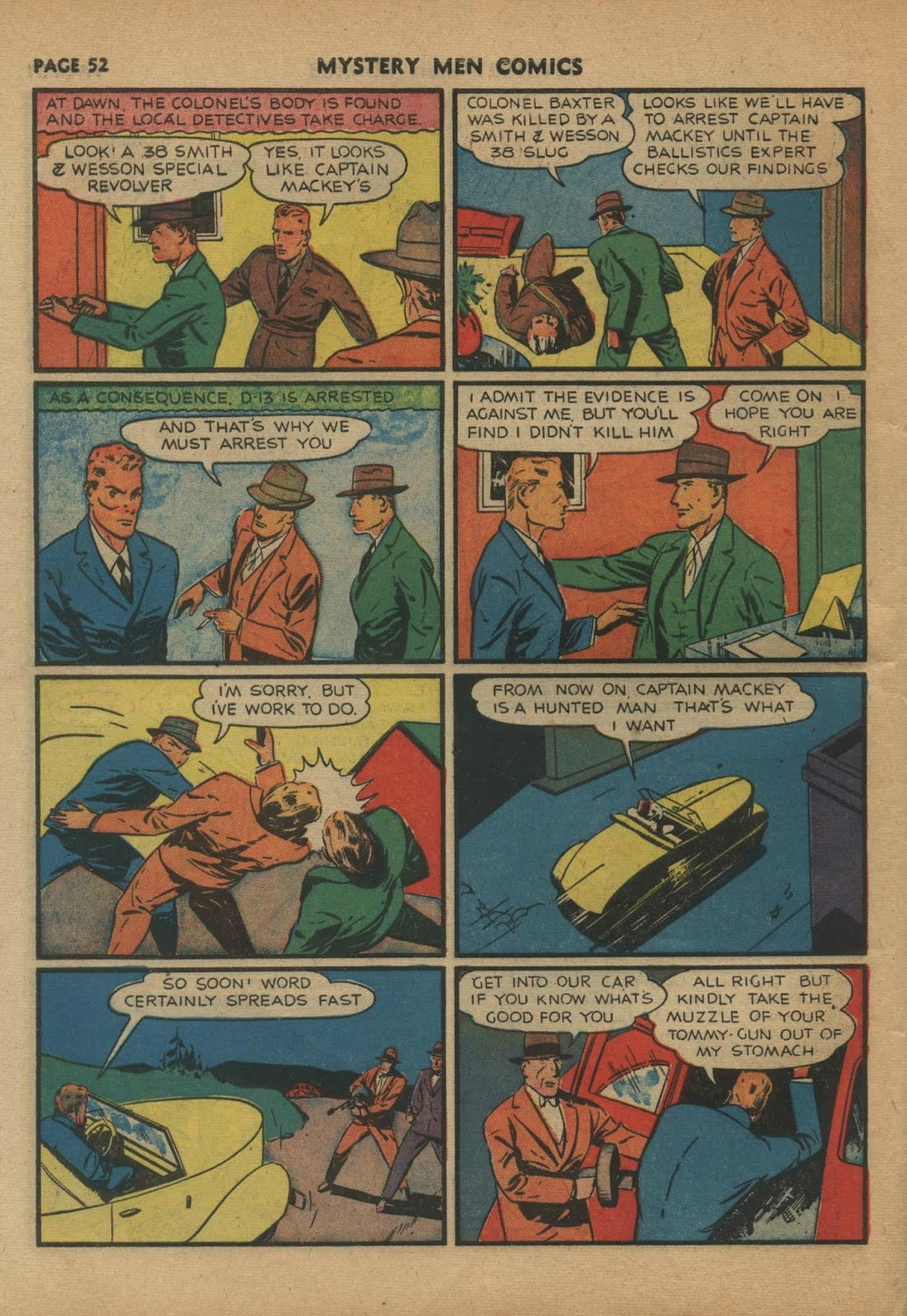 Mystery Men Comics issue 24 - Page 54