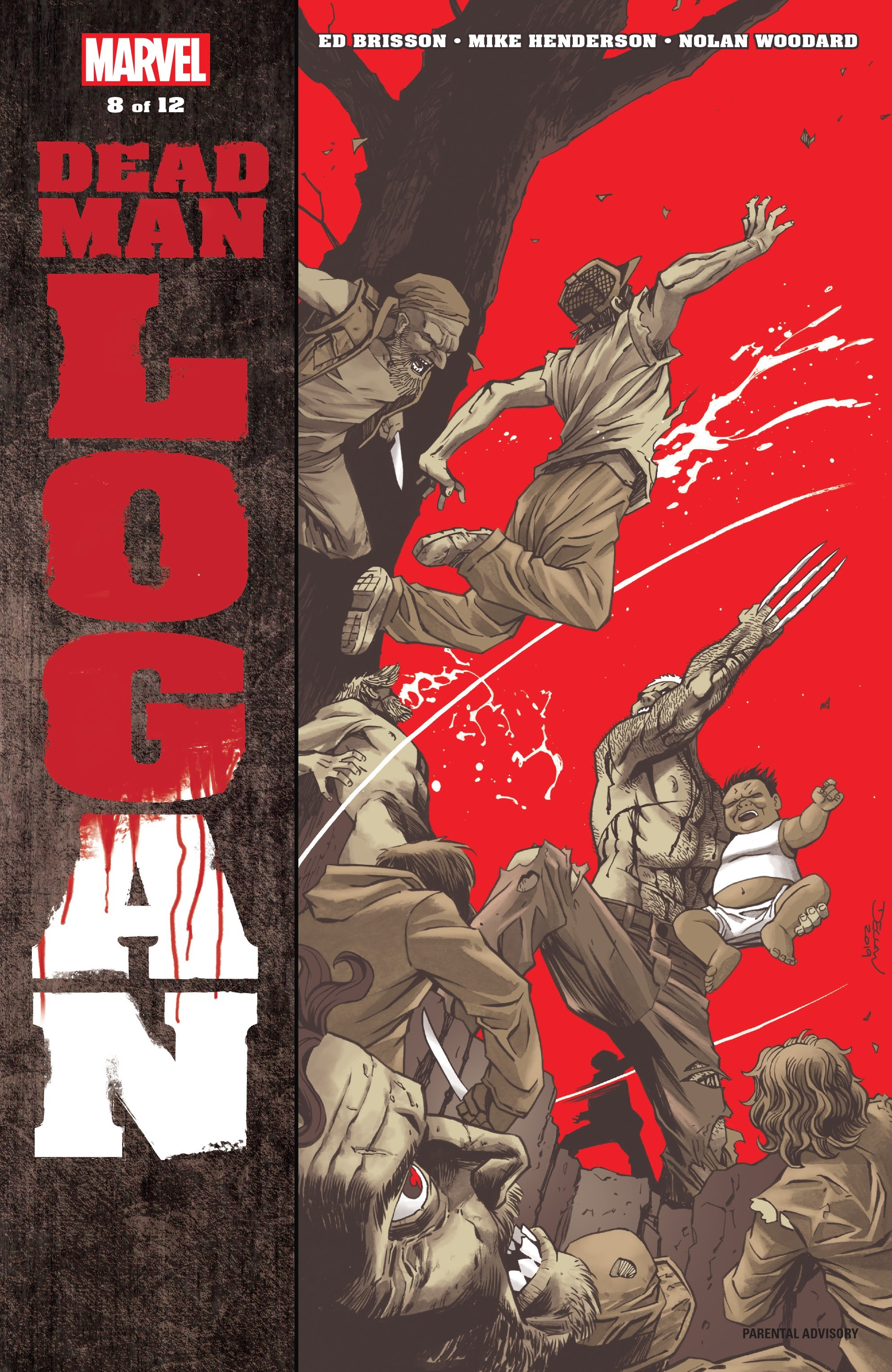 Dead Man Logan 8 Page 1
