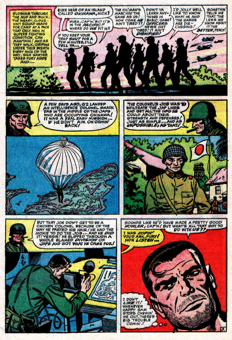 Read online Sgt. Fury comic -  Issue #10 - 5