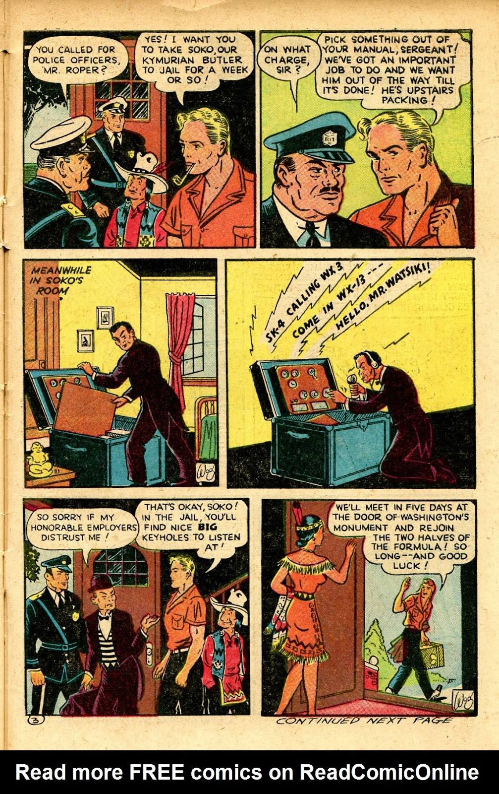 Read online Famous Funnies comic -  Issue #129 - 43